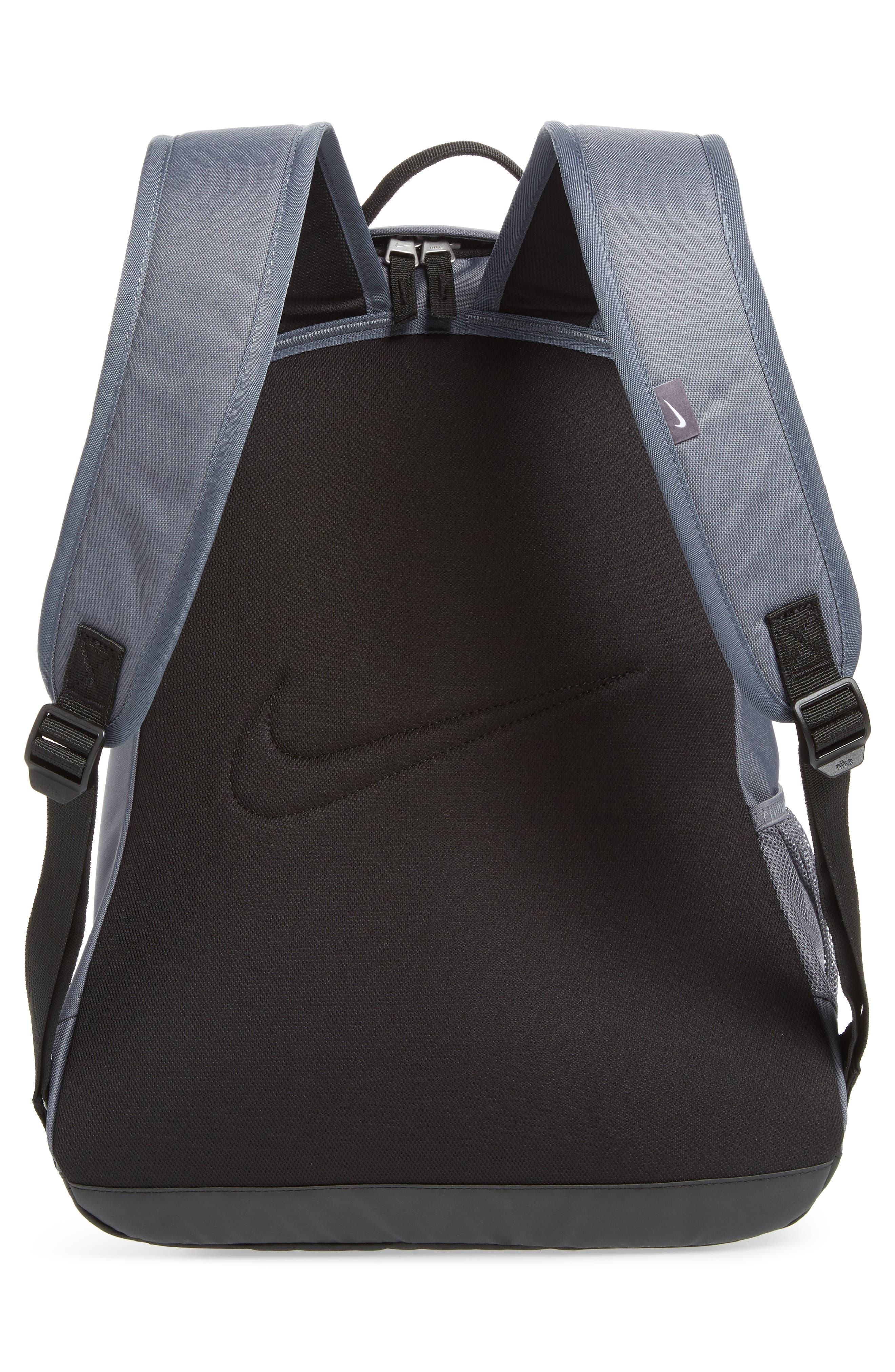 a20011895595 Shop Nike Club Team Backpack - Grey In Flint Grey  Black  White