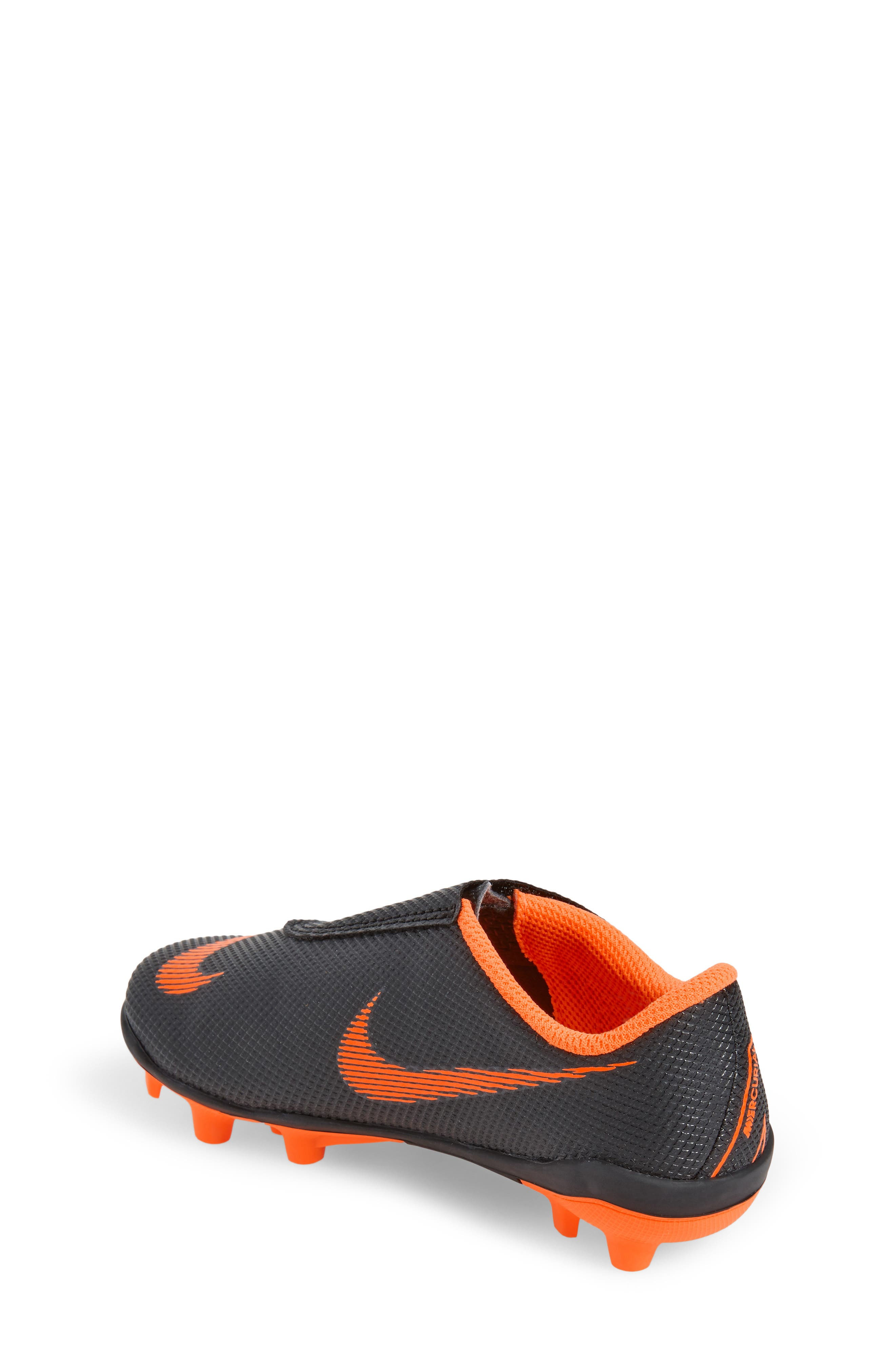 Tiempo Legend 7 Club Firm Ground Soccer Cleat,                             Alternate thumbnail 2, color,                             Black/ Total Orange/ White