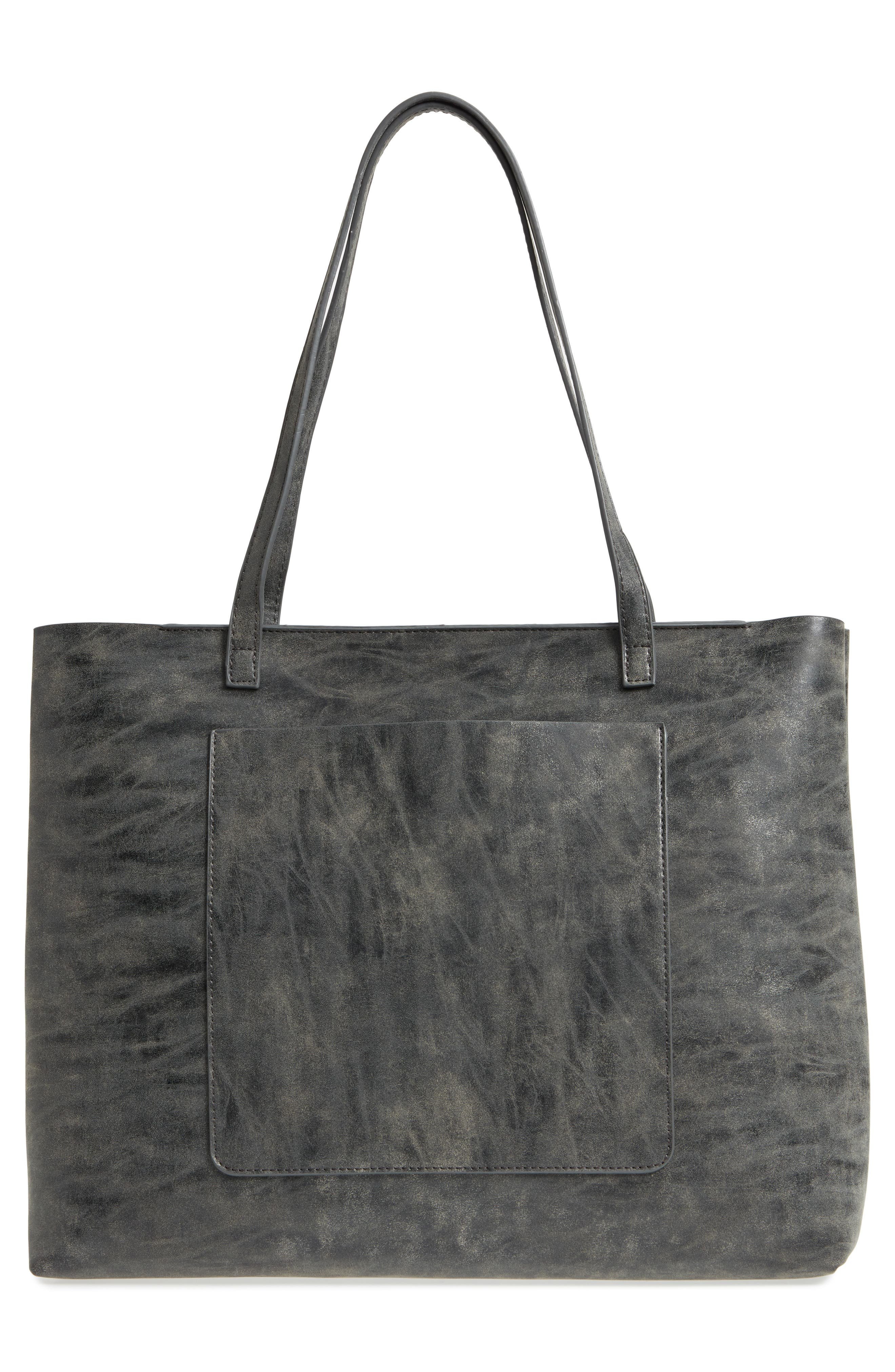 Tote,                             Alternate thumbnail 3, color,                             Grey