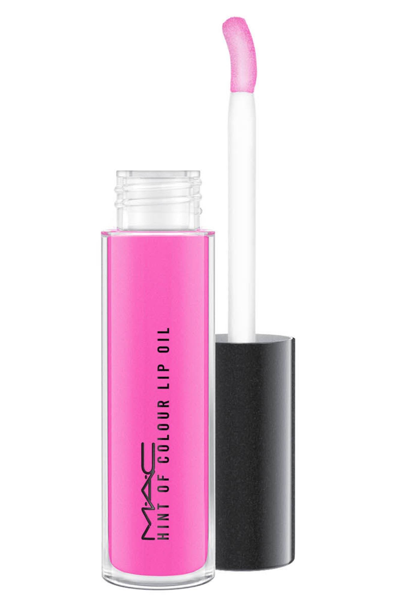 MAC Hint of Color Lip Oil,                         Main,                         color, Candy Drop