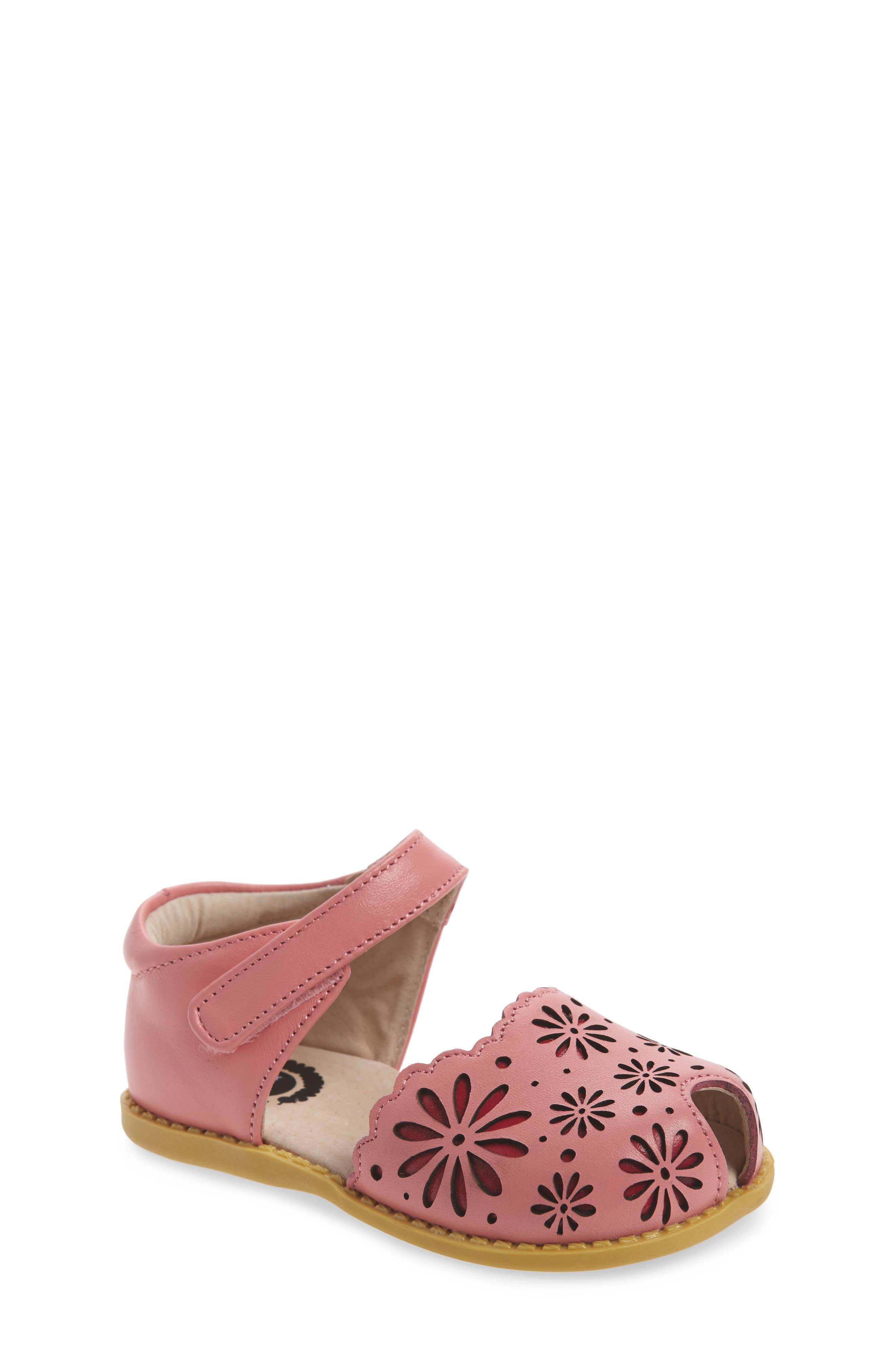Carmen Glitter Sandal,                             Main thumbnail 1, color,                             Rosy Pink