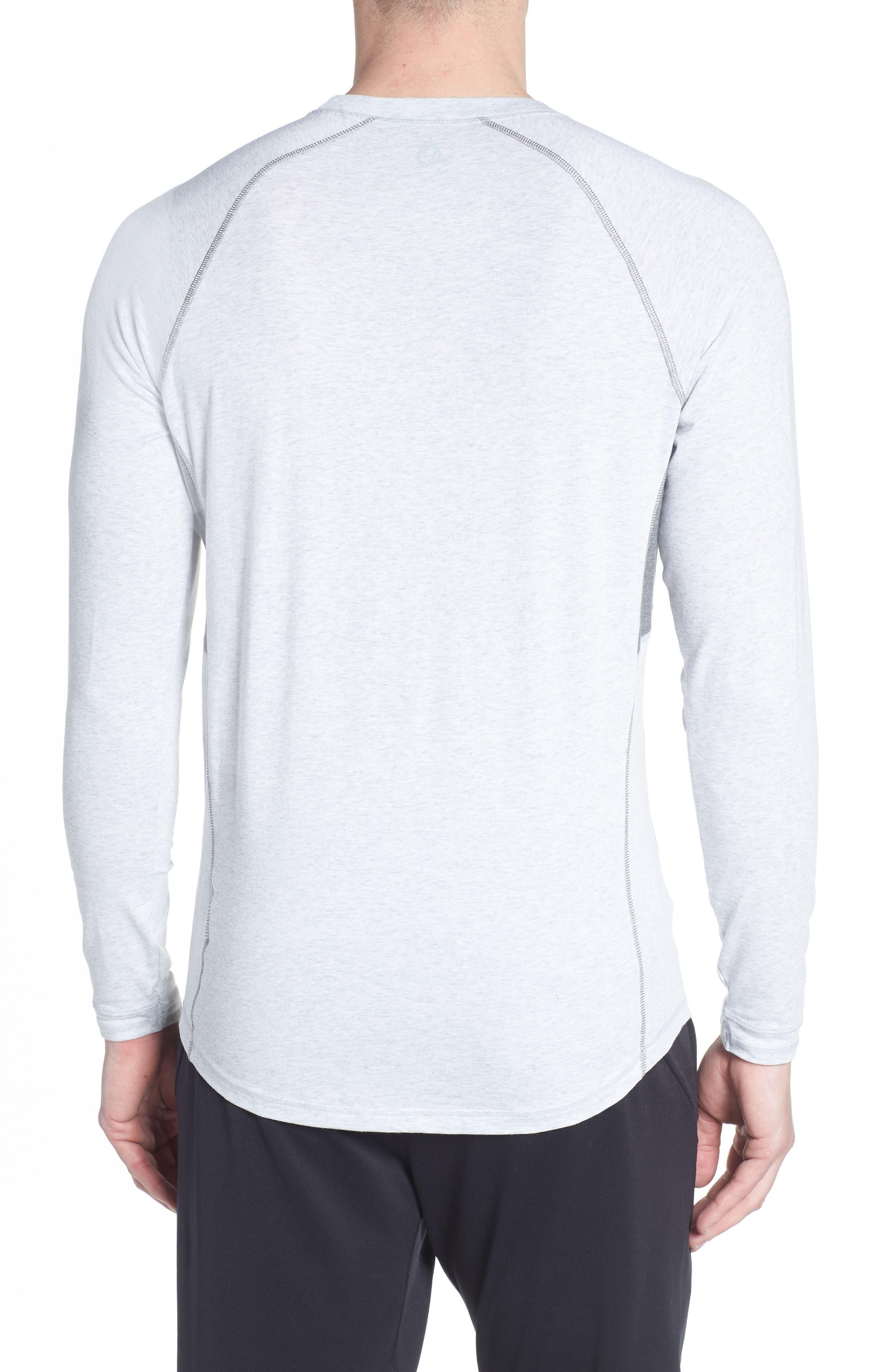Charge II Long Sleeve Shirt,                             Alternate thumbnail 2, color,                             Light Heather Gray