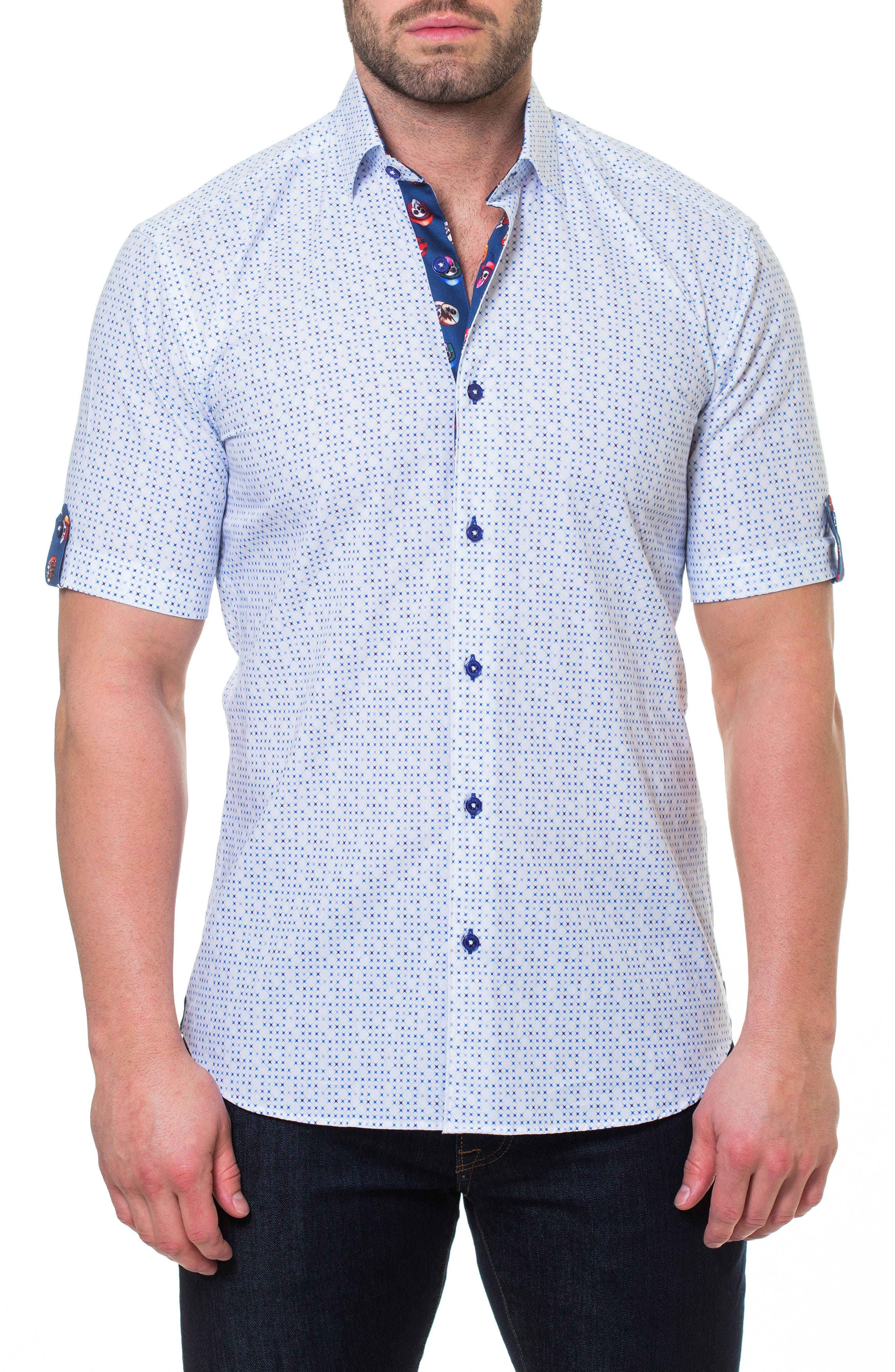 Fresh Mystical Sport Shirt,                             Main thumbnail 1, color,                             White