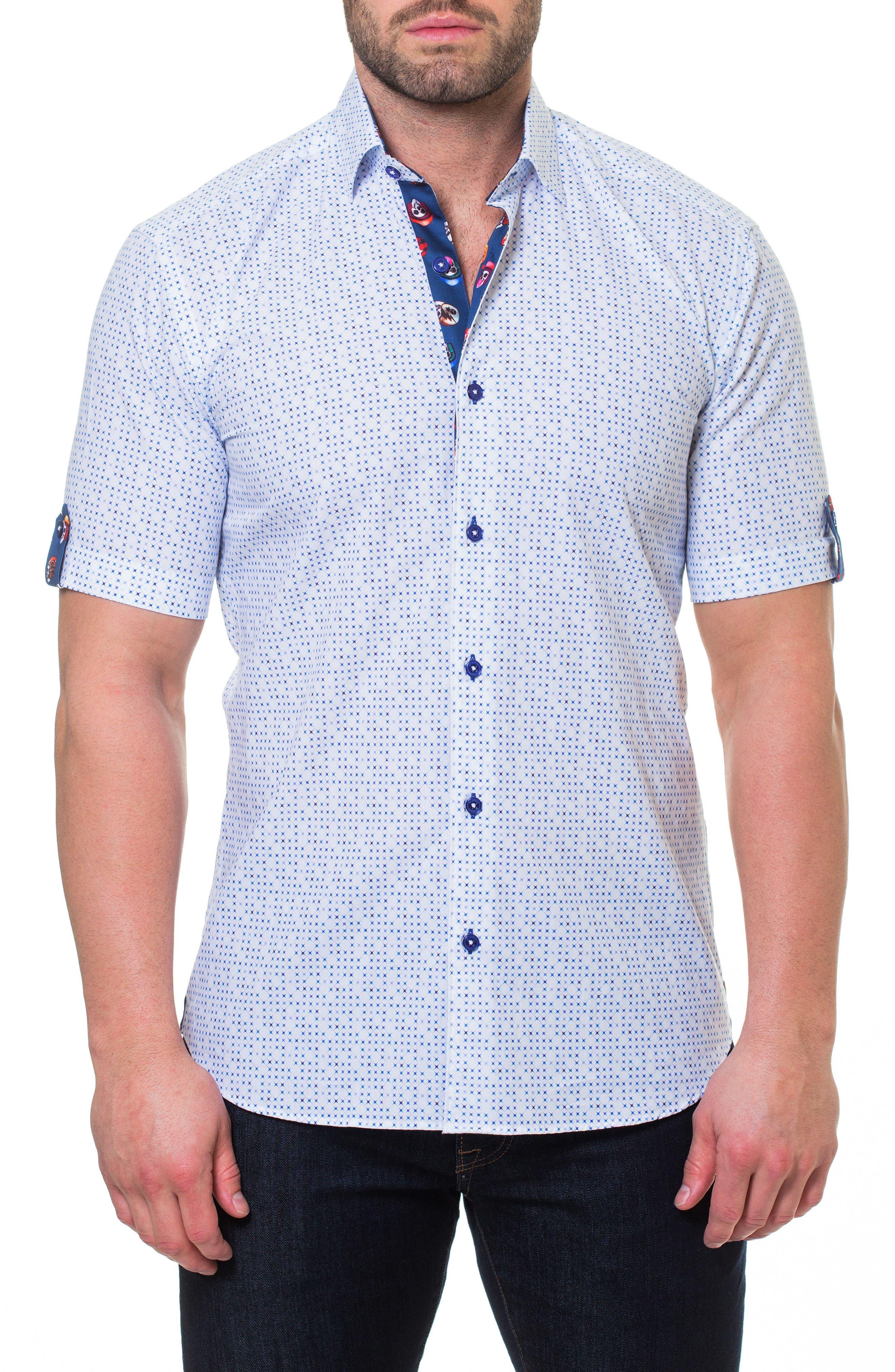 Fresh Mystical Sport Shirt,                         Main,                         color, White