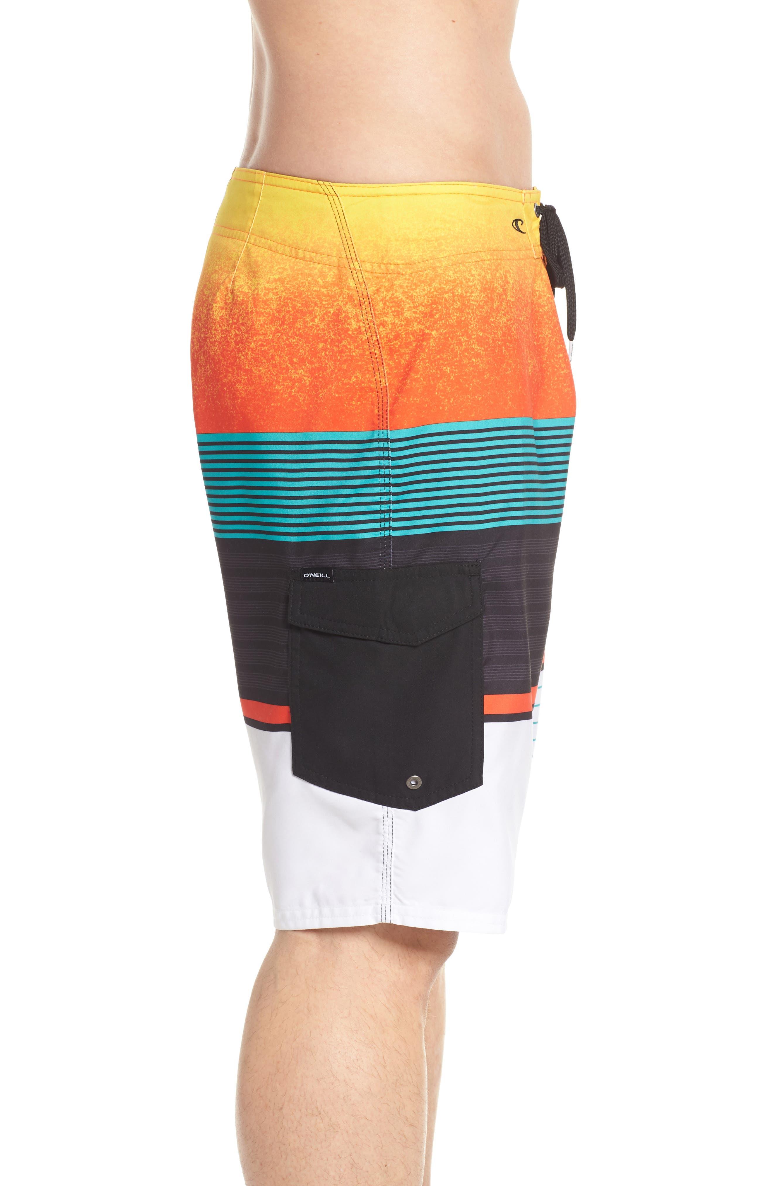 Lennox Board Shorts,                             Alternate thumbnail 4, color,                             Orange
