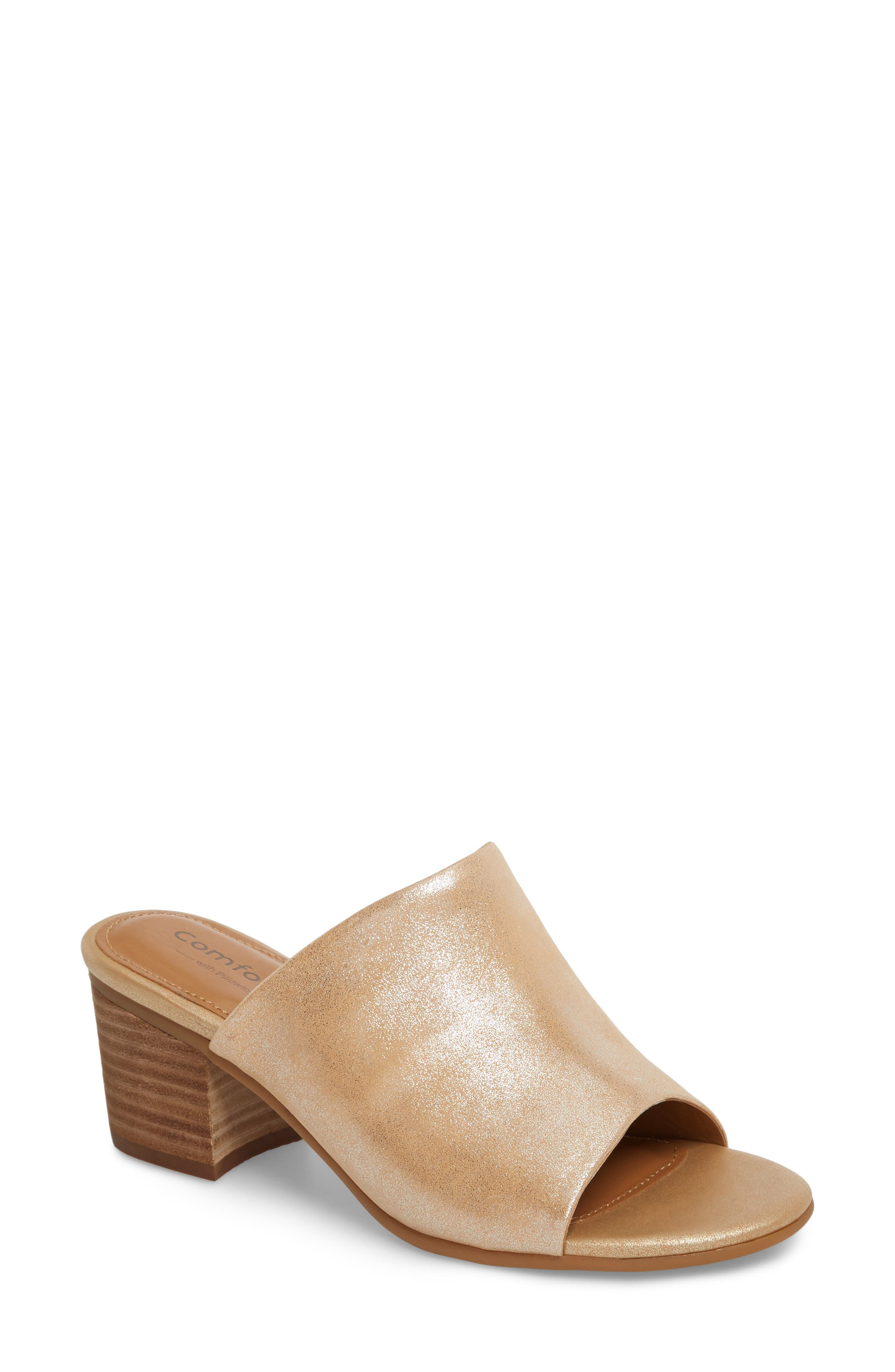 Anabella Sandal,                         Main,                         color, Natural Leather