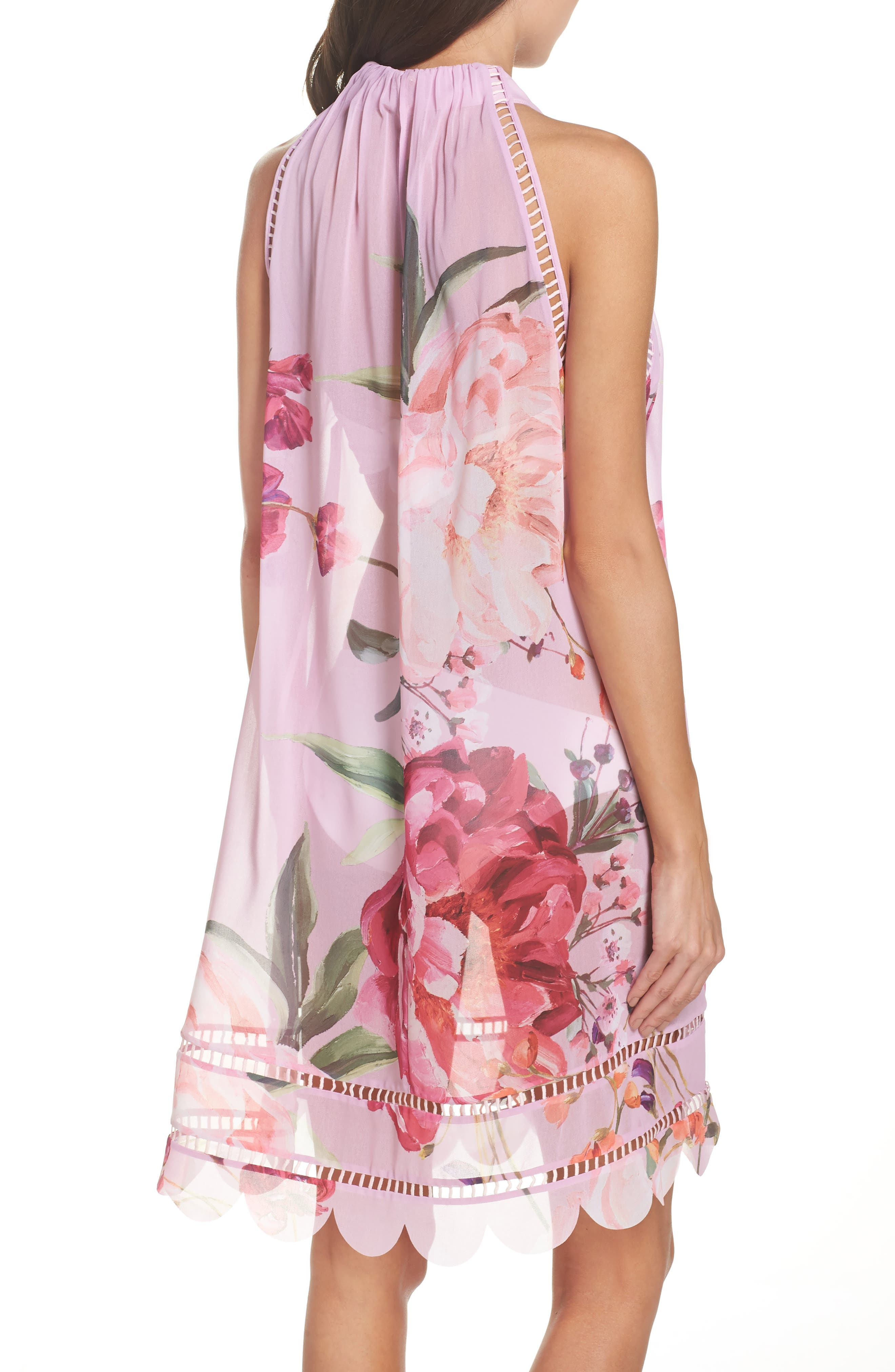 Serenity Scallop Cover-Up,                             Alternate thumbnail 2, color,                             Pale Pink