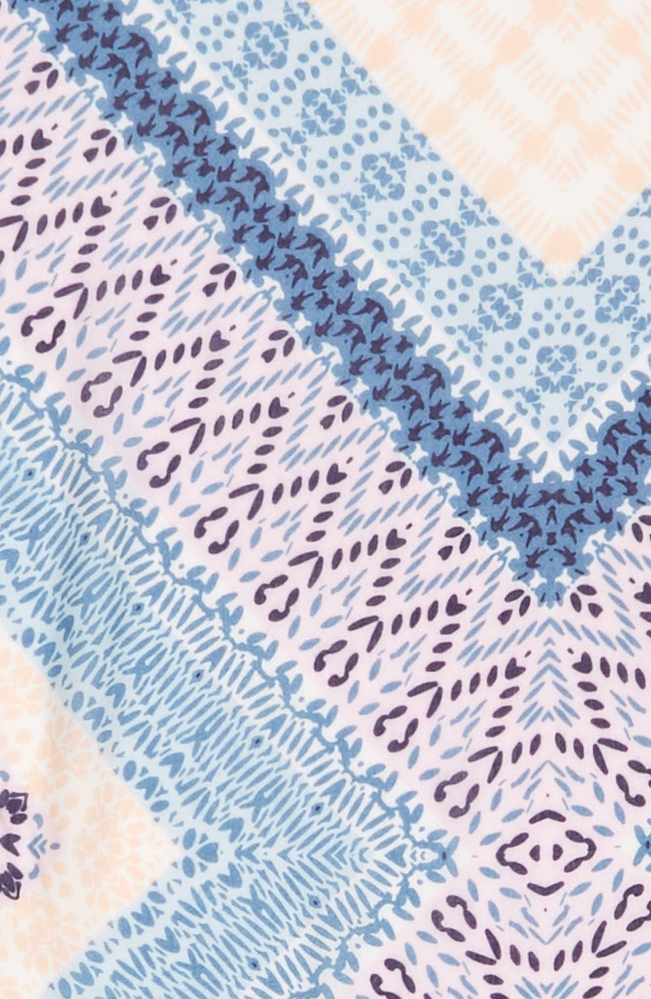 Berber Oblong Scarf,                             Alternate thumbnail 4, color,                             Pink