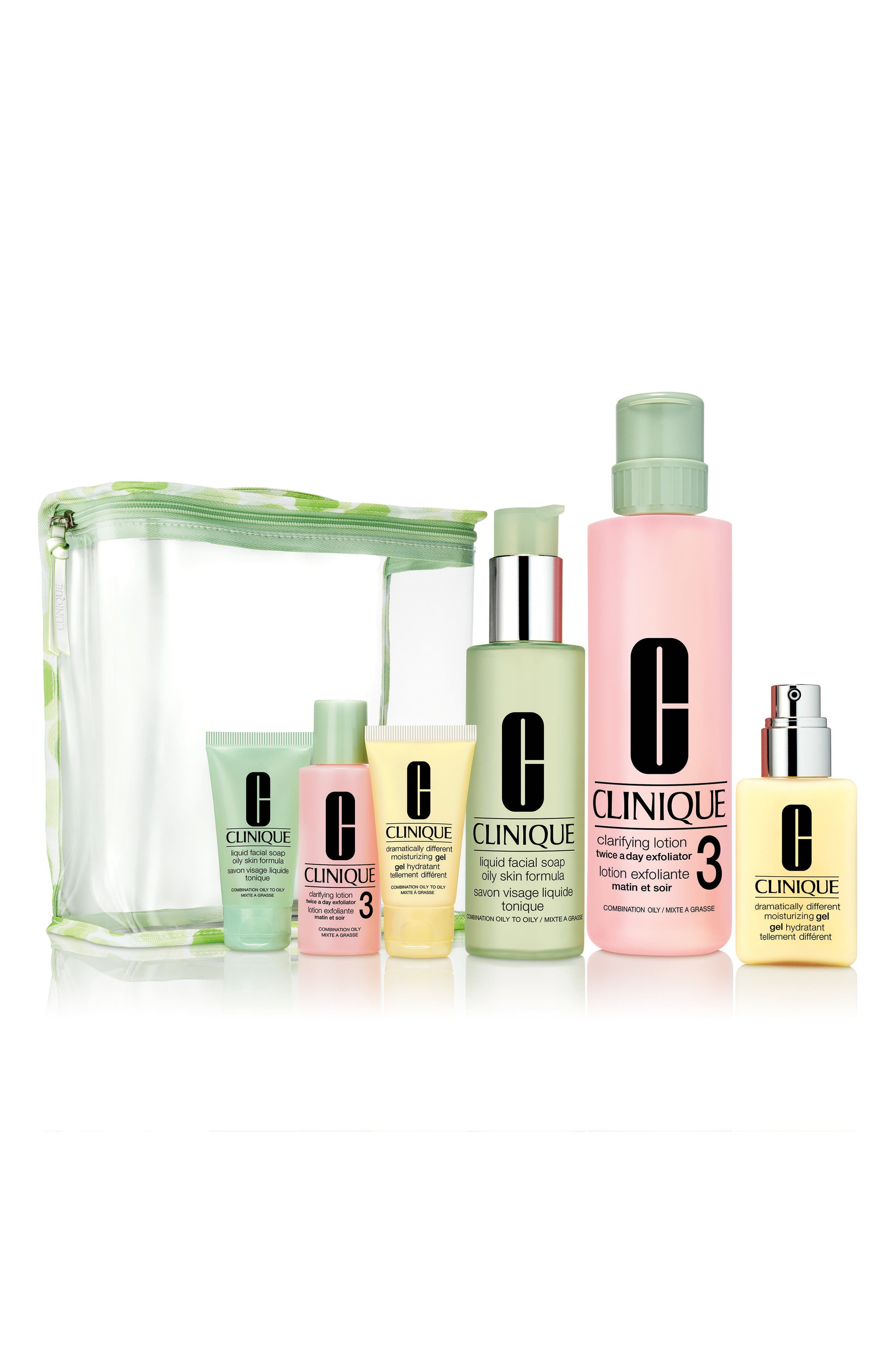 Clinique Great Skin Everywhere Skin Types III & IV Set ($92.50 Value)