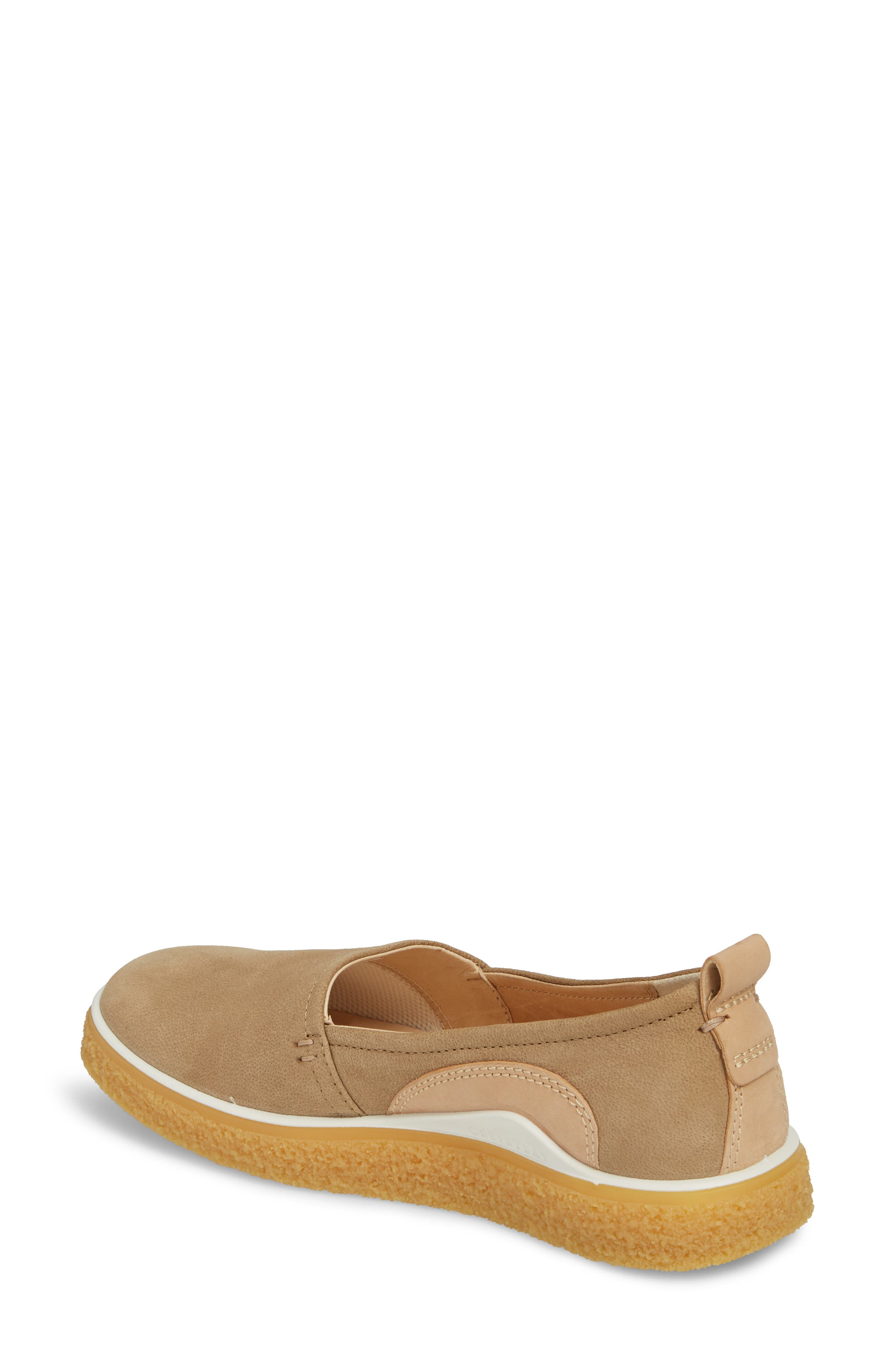 Crepetray Slip-On,                             Alternate thumbnail 2, color,                             Brown Leather