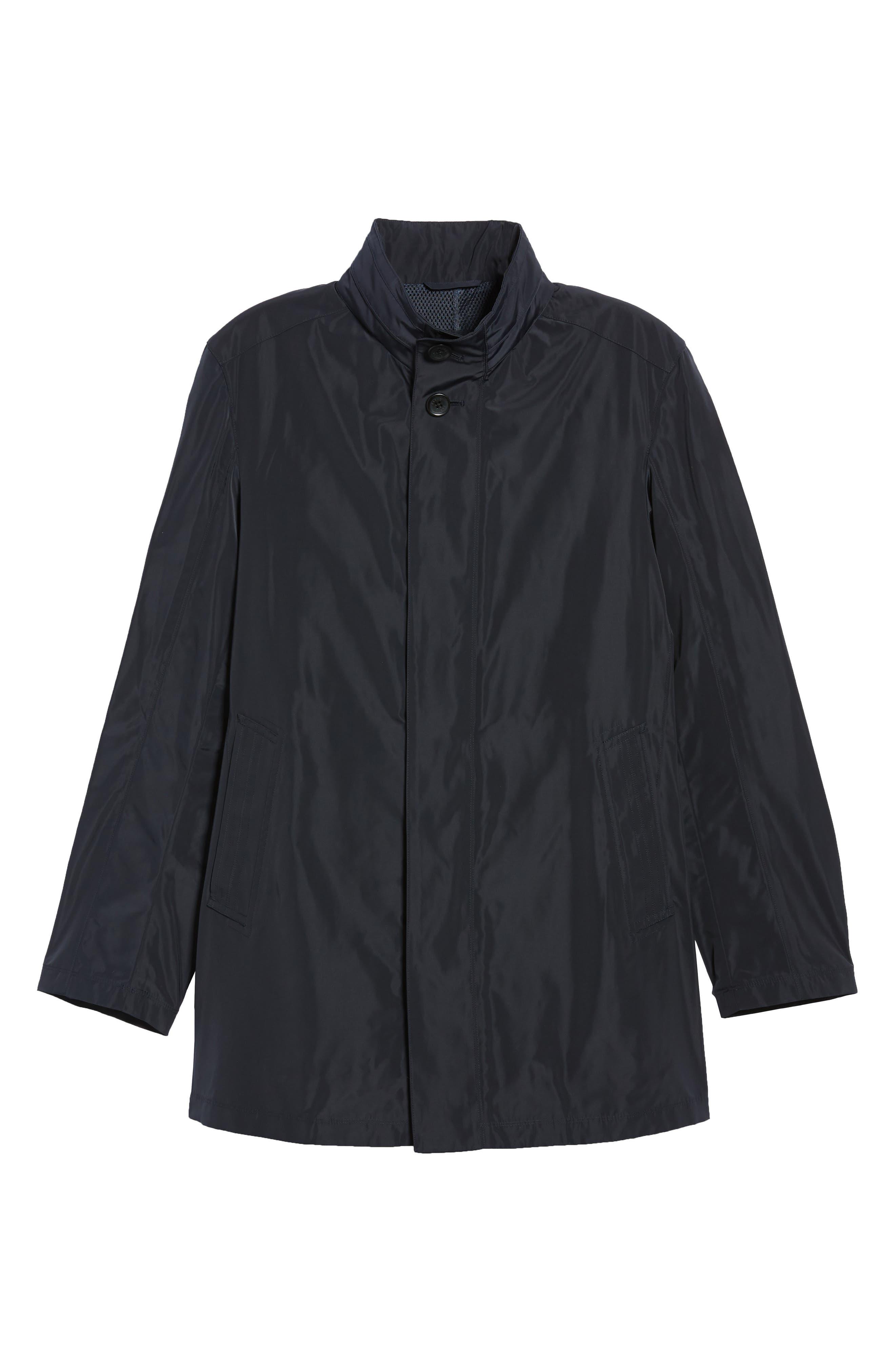 Getaway Raincoat,                         Main,                         color, Midnight
