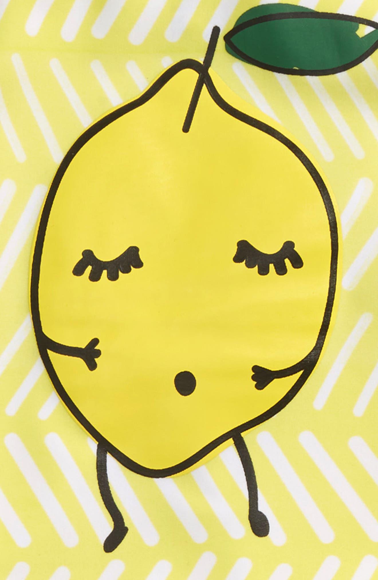 Limun Two-Piece Rashguard Swimsuit,                             Alternate thumbnail 2, color,                             Yellow
