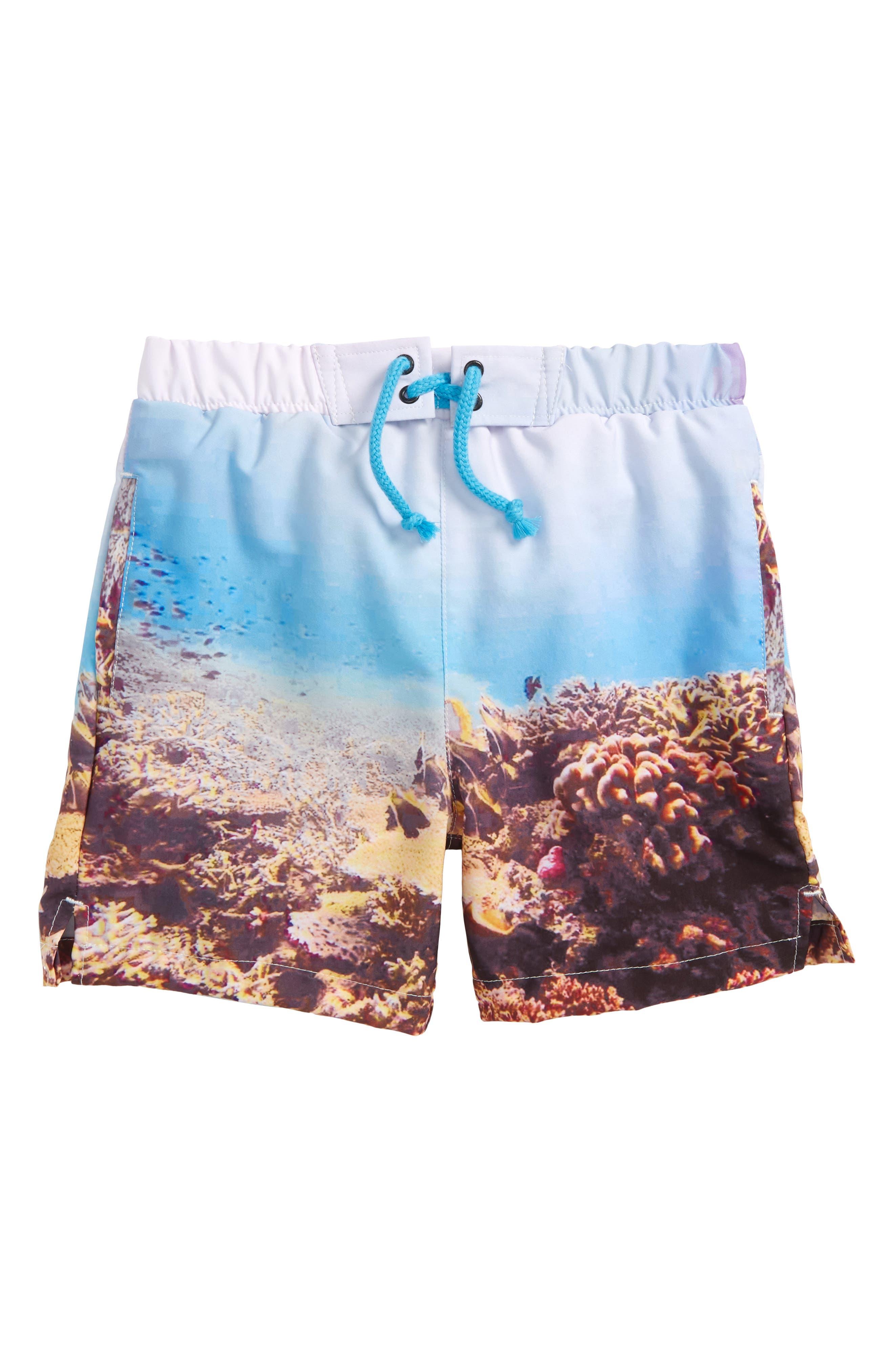 Sovereign Code Harbor Swim Shorts (Toddler Boys & Little Boys)