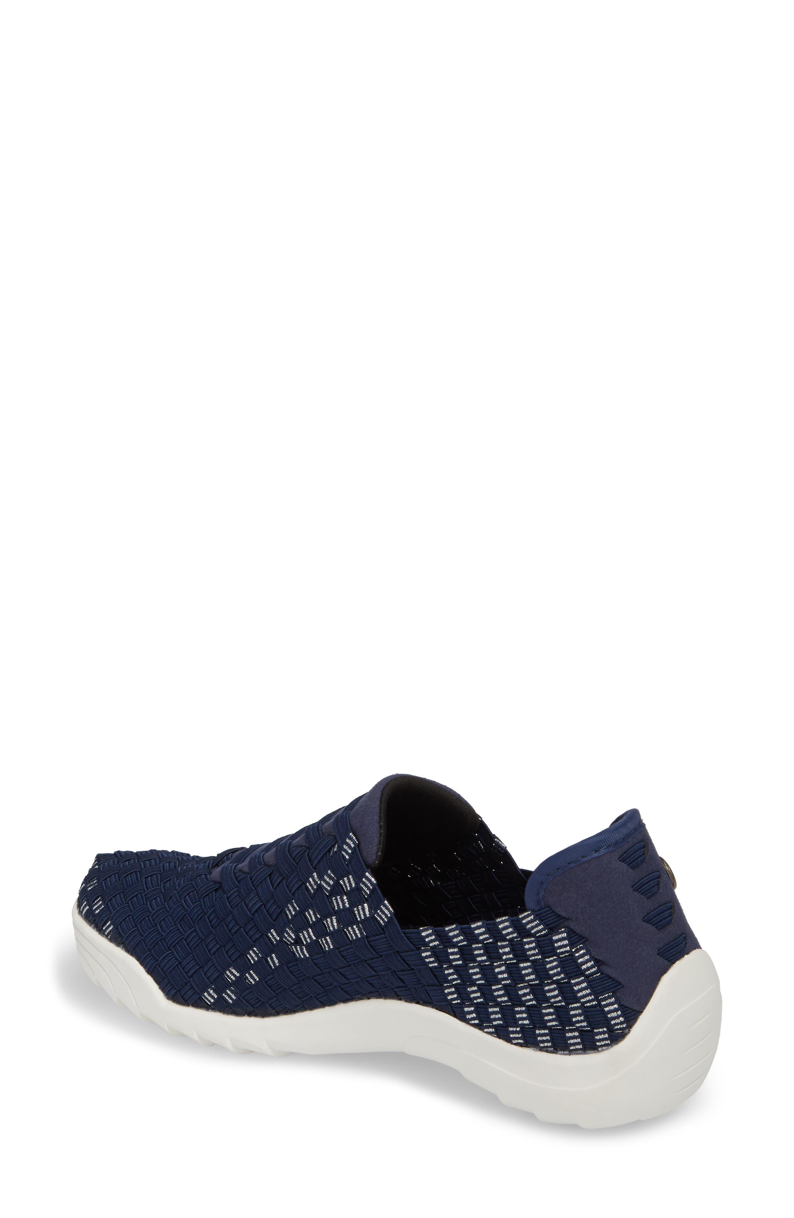 Rigged Vivaldi Slip-On Sneaker,                             Alternate thumbnail 2, color,                             Navy Lurex