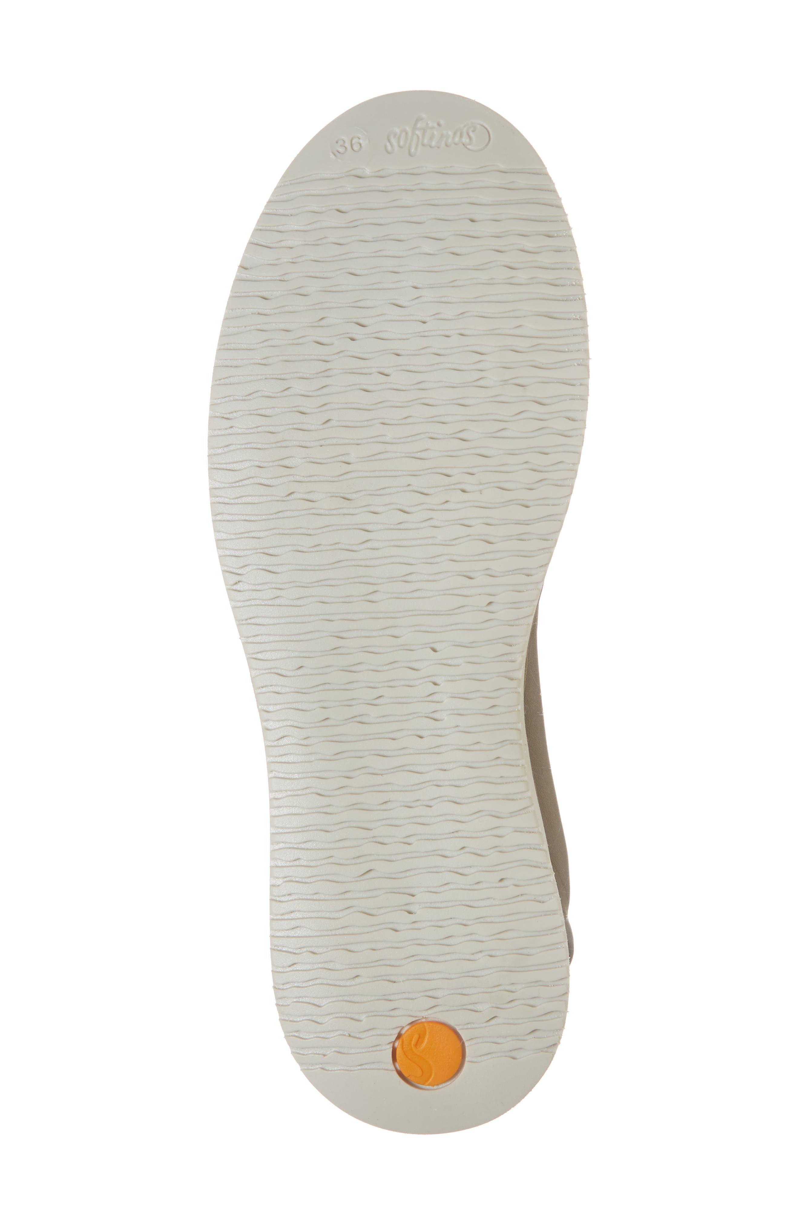 Tee Flat Sandal,                             Alternate thumbnail 6, color,                             Taupe Leather