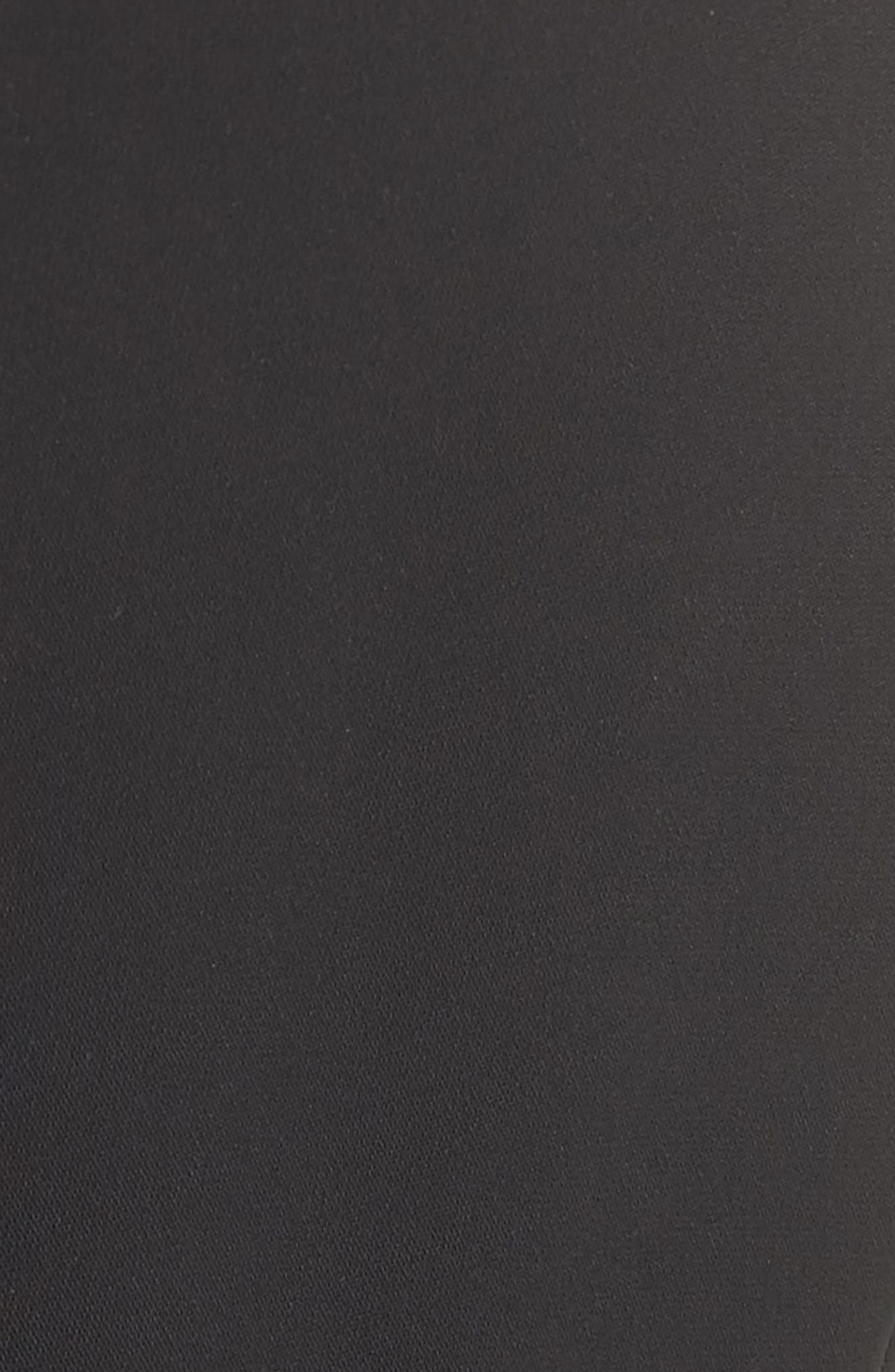 Ruffle Pants,                             Alternate thumbnail 5, color,                             Black