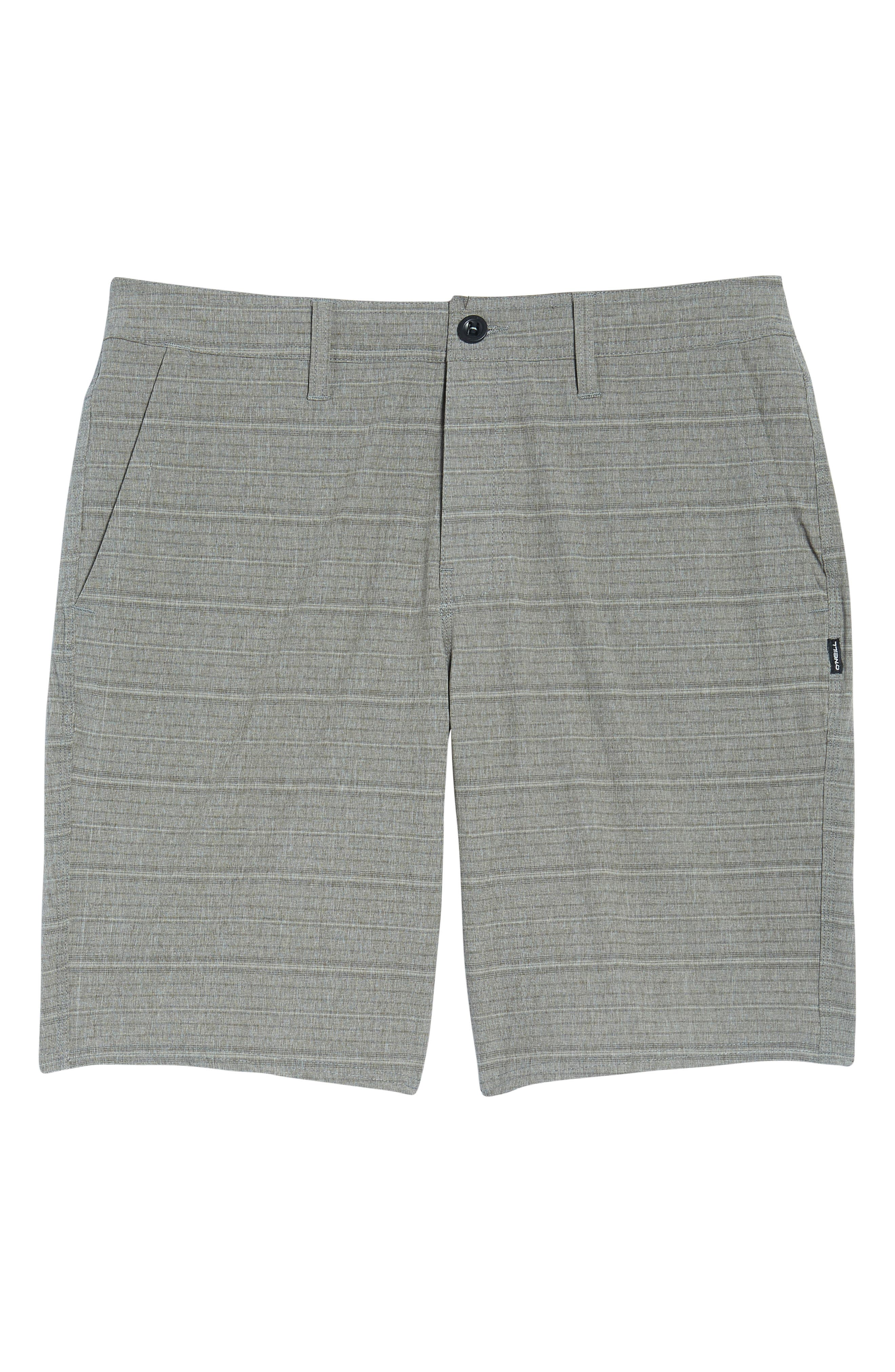 Alternate Image 6  - O'Neill Locked Stripe Hybrid Shorts