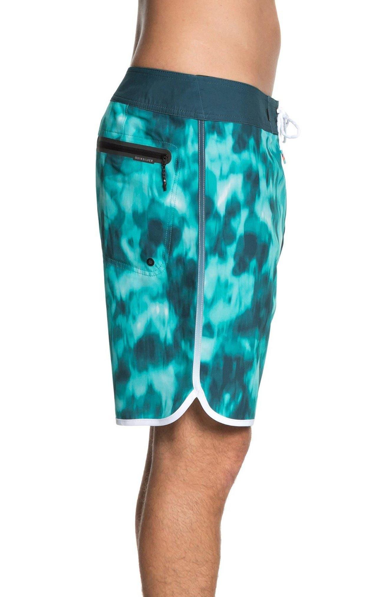 Highline Recon Board Shorts,                             Alternate thumbnail 3, color,                             Atlantic Deep