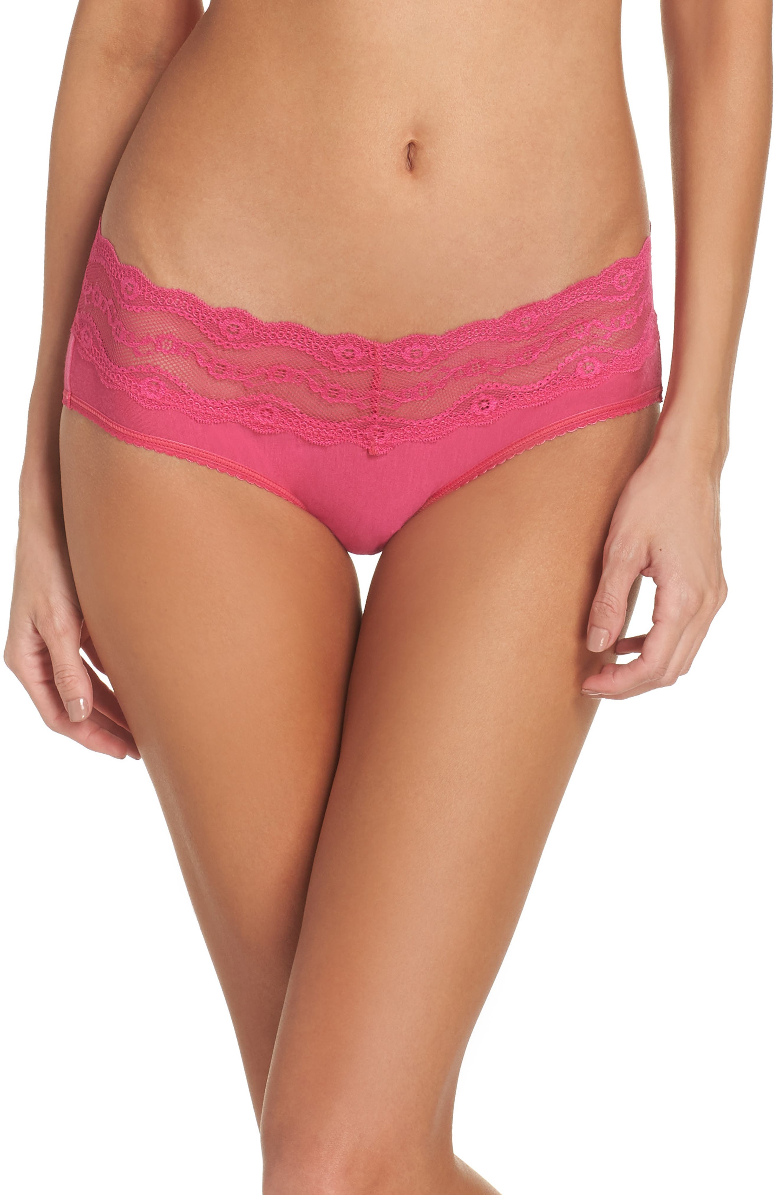 Alternate Image 1 Selected - b.tempt'd by Wacoal B. Adorable Hipster Panties (3 for $33)