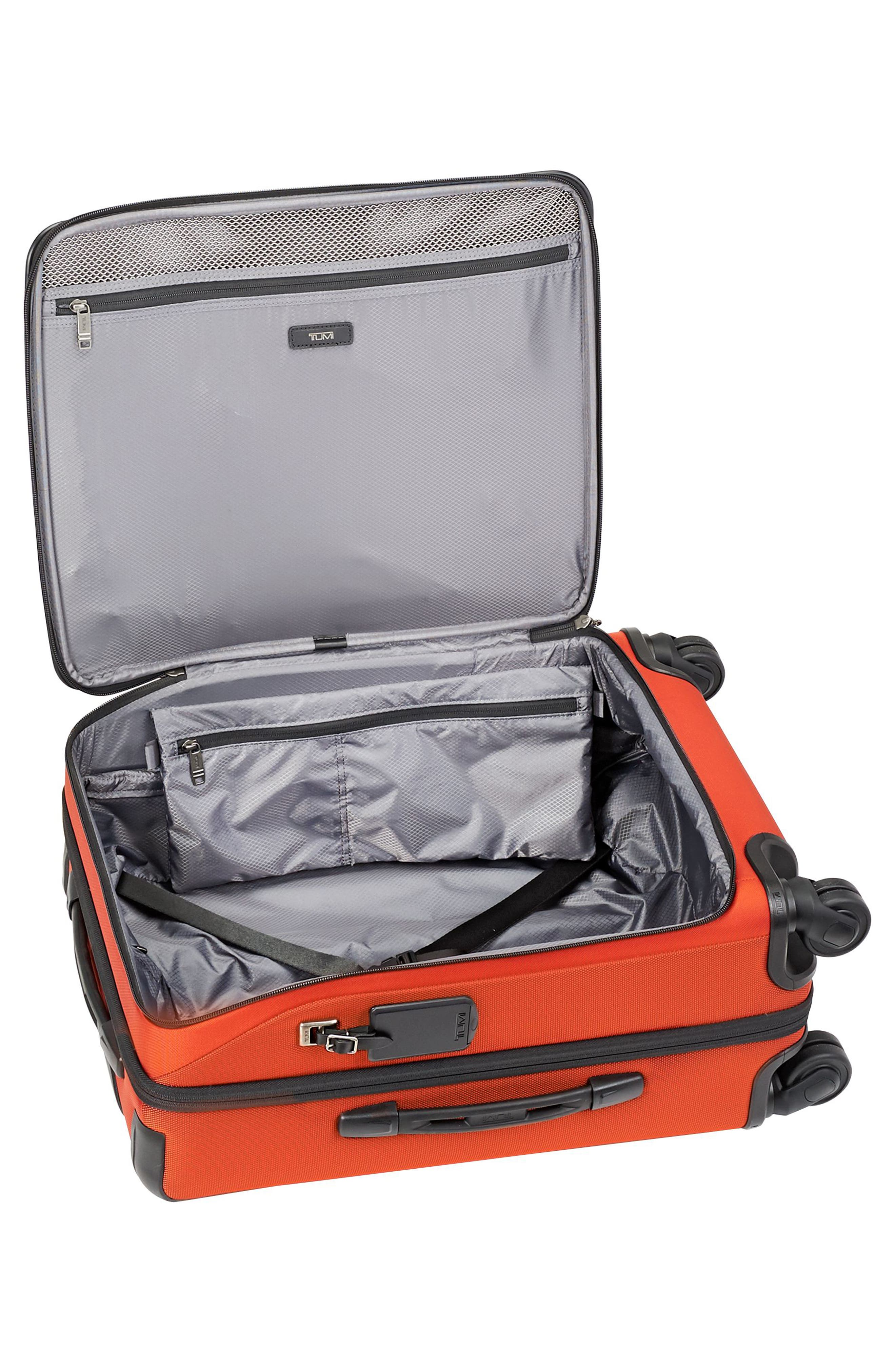 Merge - Continental Expandable Rolling Carry-On,                             Alternate thumbnail 3, color,                             Sunset Red