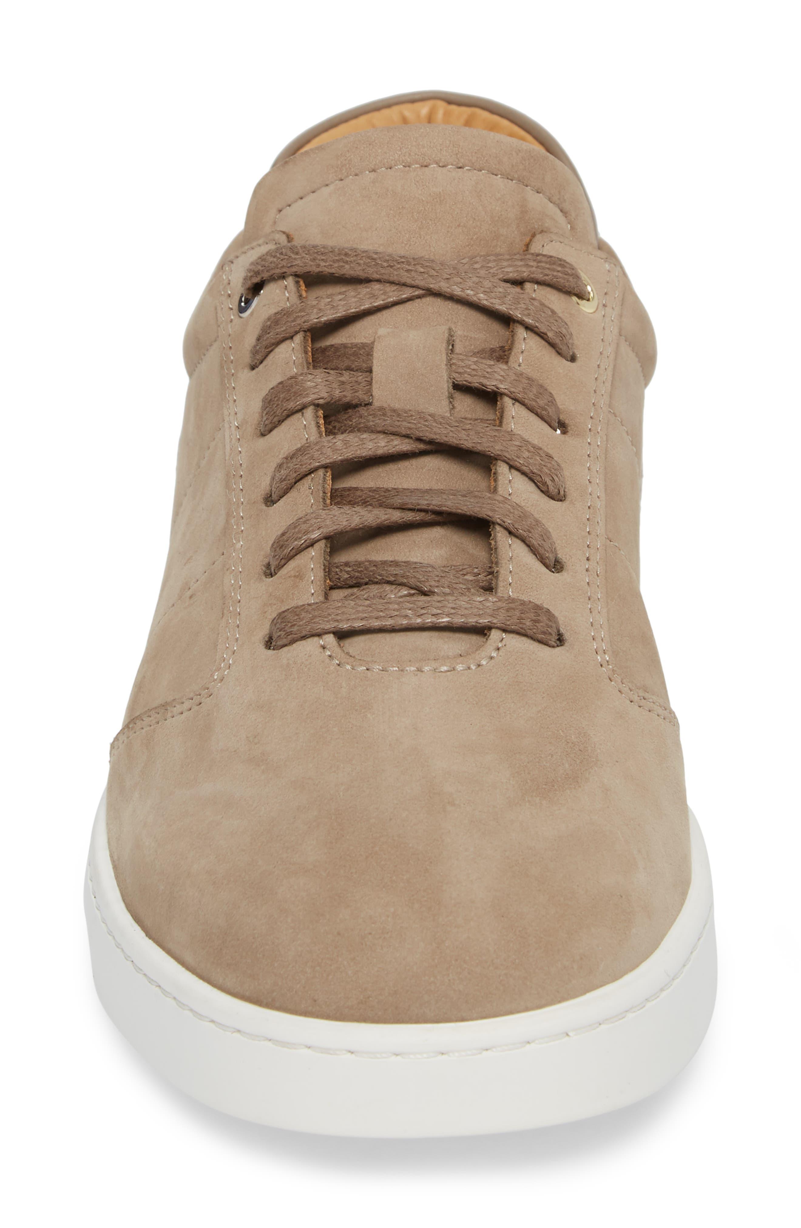 Lennon Sneaker,                             Alternate thumbnail 4, color,                             Woodsmoke/ Mushroom