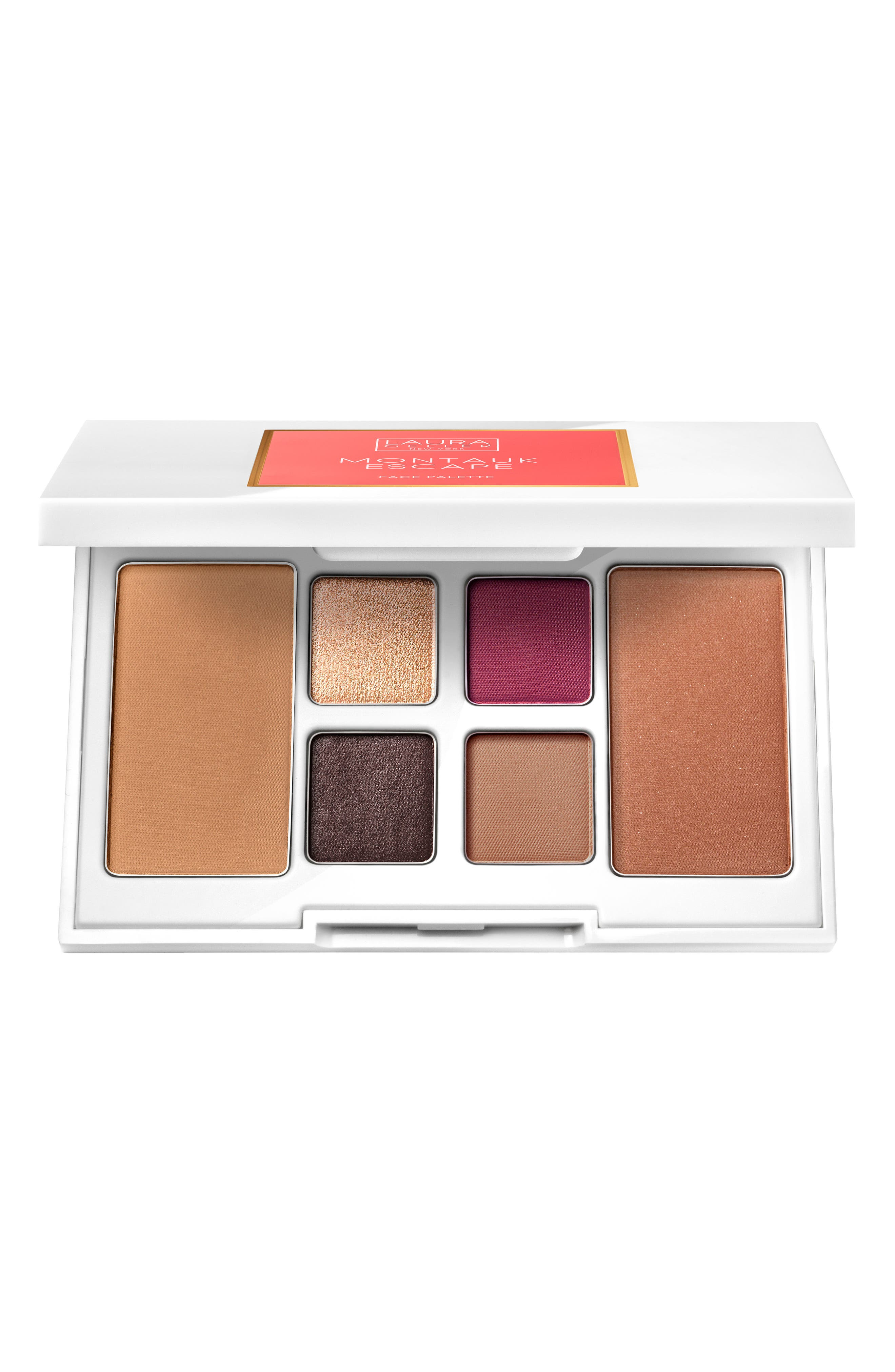 Montauk Escape Face Palette,                             Main thumbnail 1, color,                             No Color