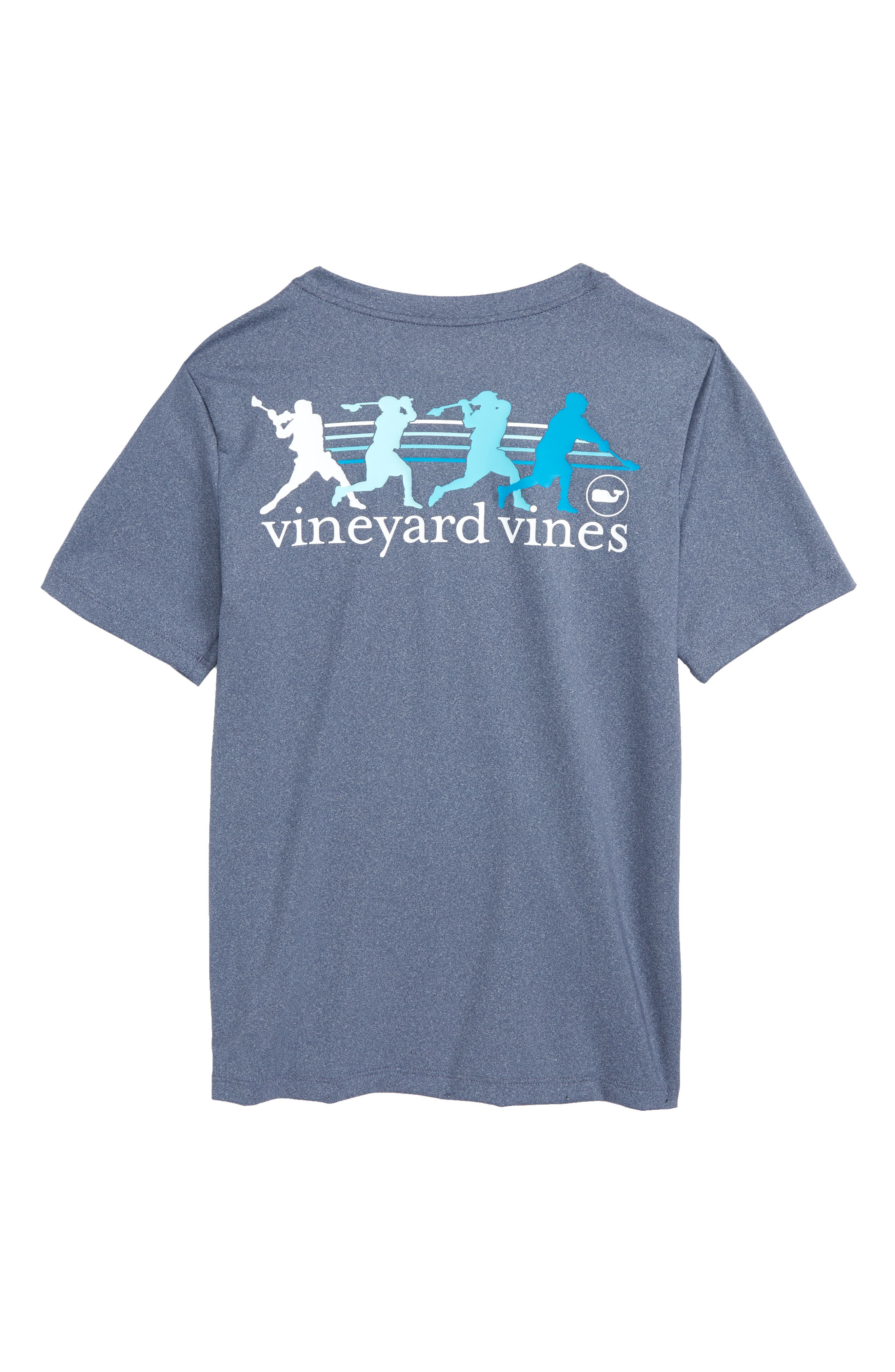 Wind Up Shot Graphic Performance T-Shirt,                             Alternate thumbnail 2, color,                             Deep Bay