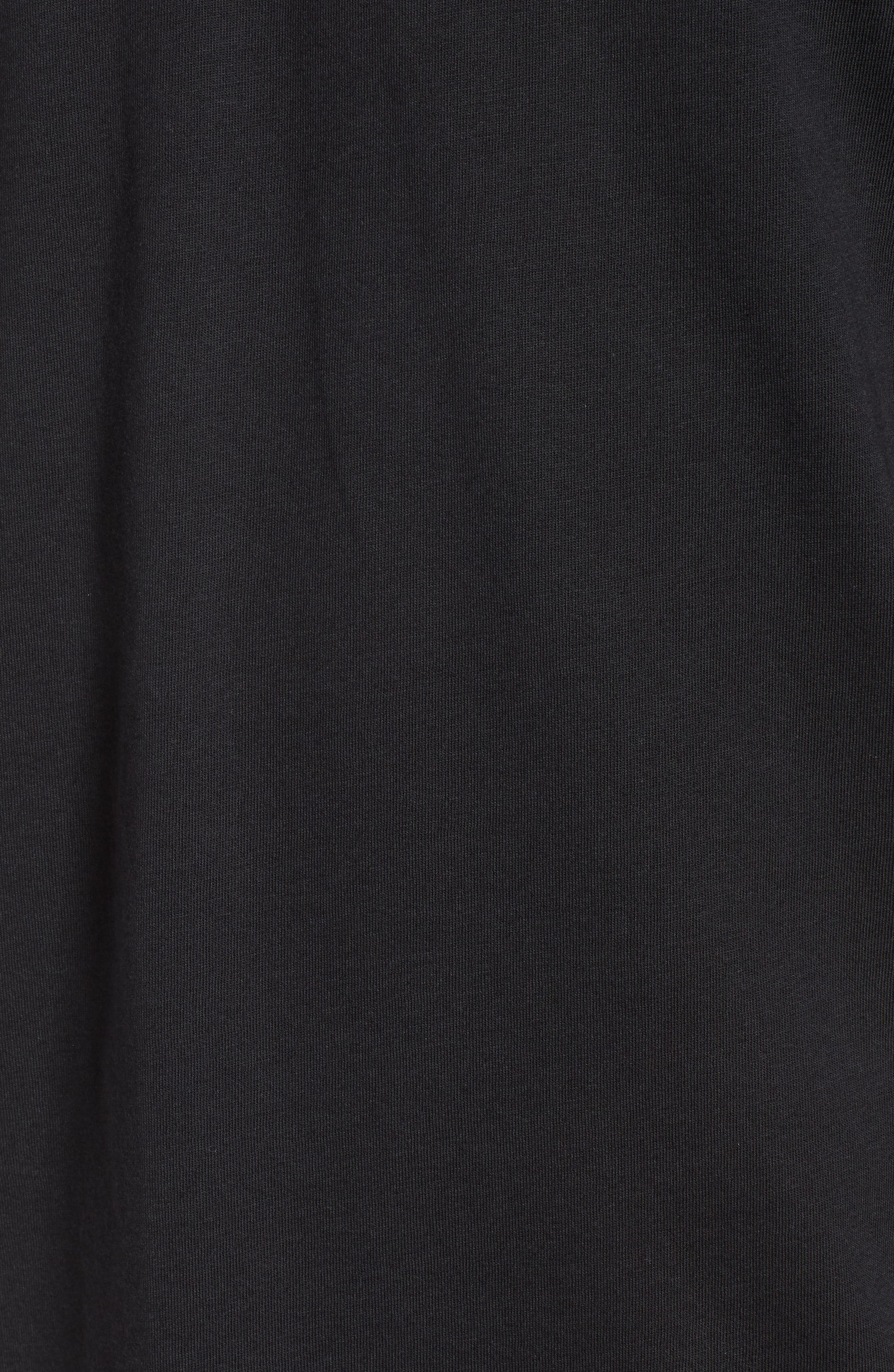 New Shield Graphic T-Shirt,                             Alternate thumbnail 5, color,                             Black
