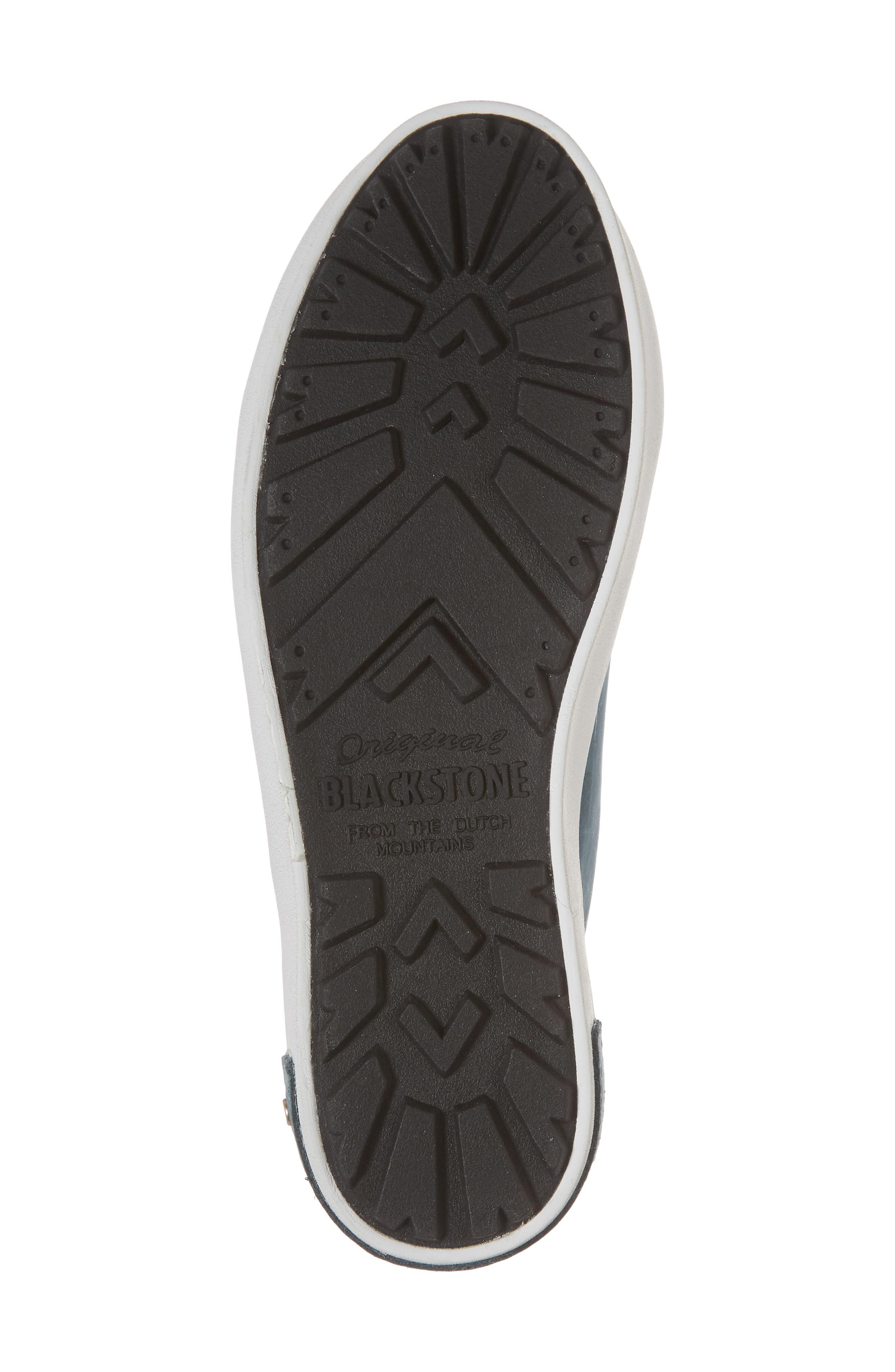 PL83 Mid Rise Sneaker,                             Alternate thumbnail 6, color,                             Mallard Blue Leather