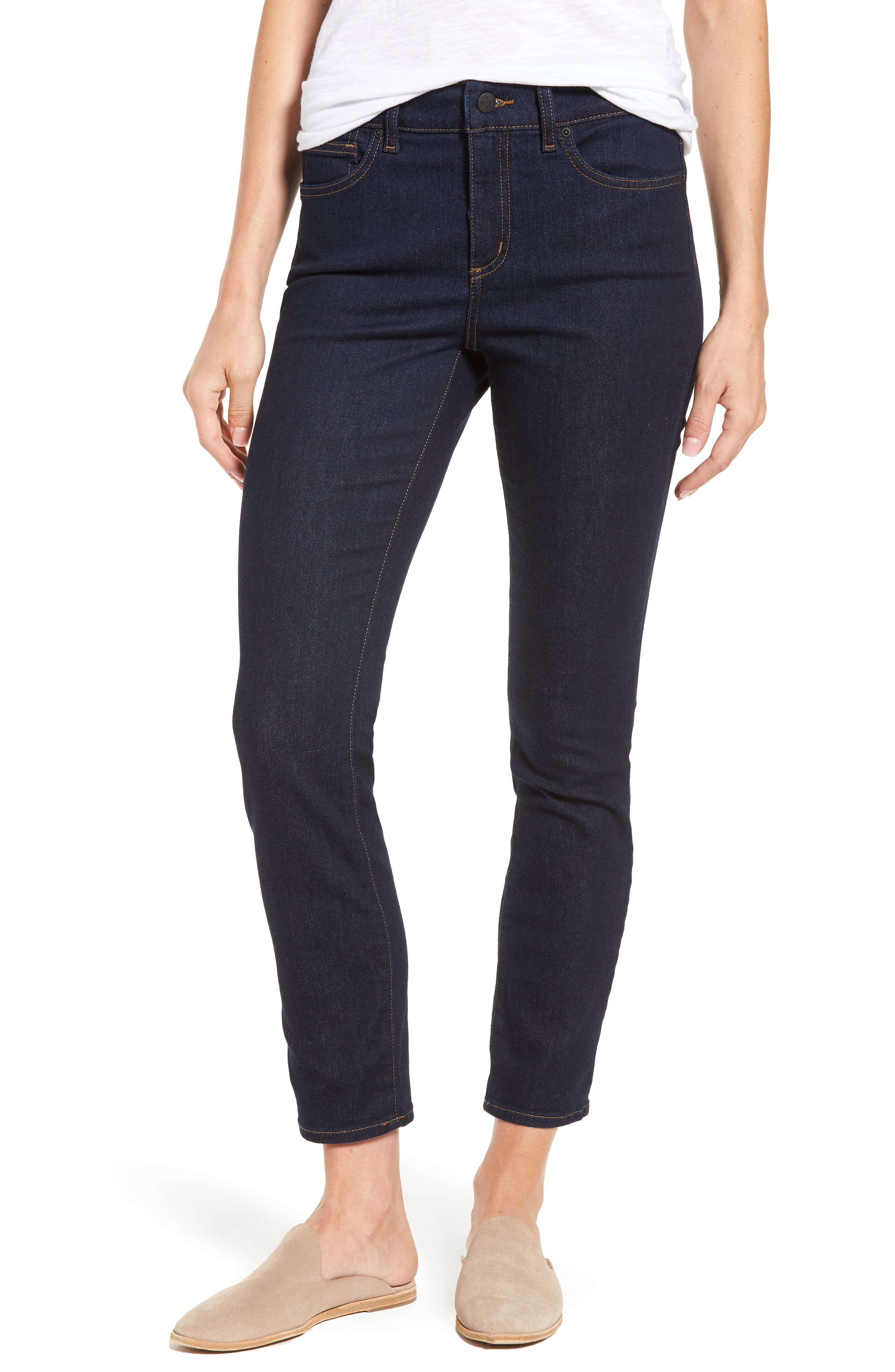 Alina Stretch Skinny Jeans,                         Main,                         color, Rinse