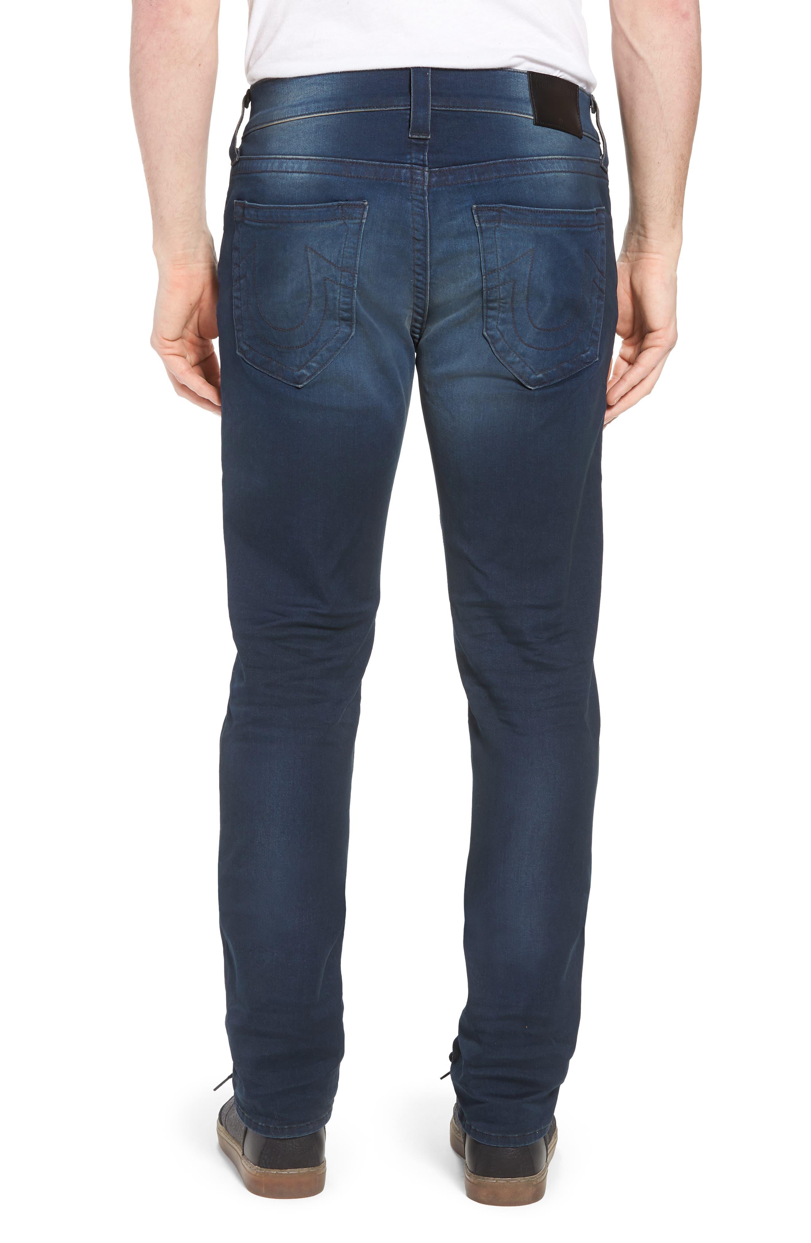 Geno Straight Leg Jeans,                             Alternate thumbnail 2, color,                             Dark Navy