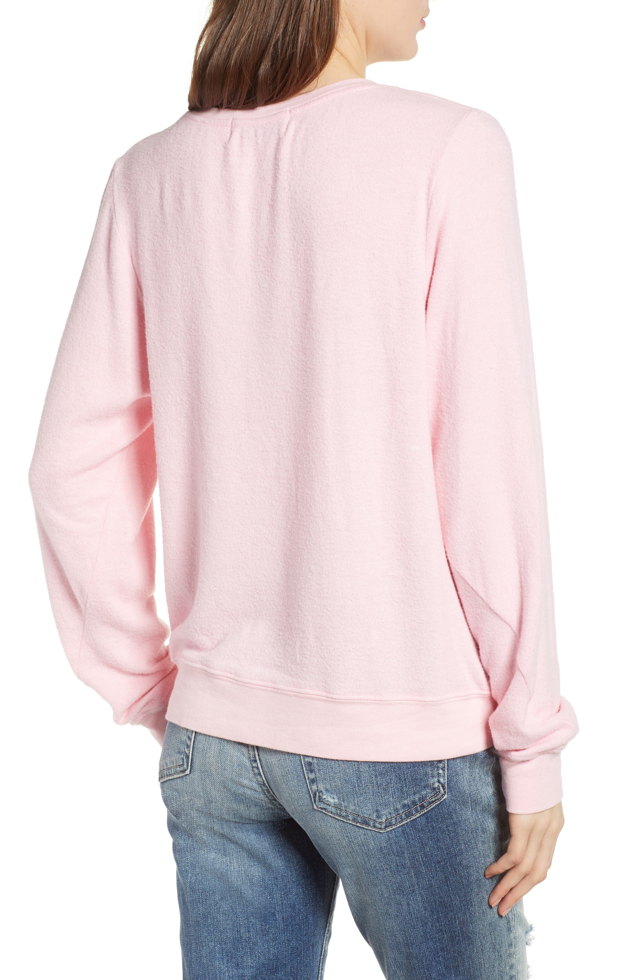 Born to Shop Forced to Work Sweatshirt,                             Alternate thumbnail 2, color,                             Lolita
