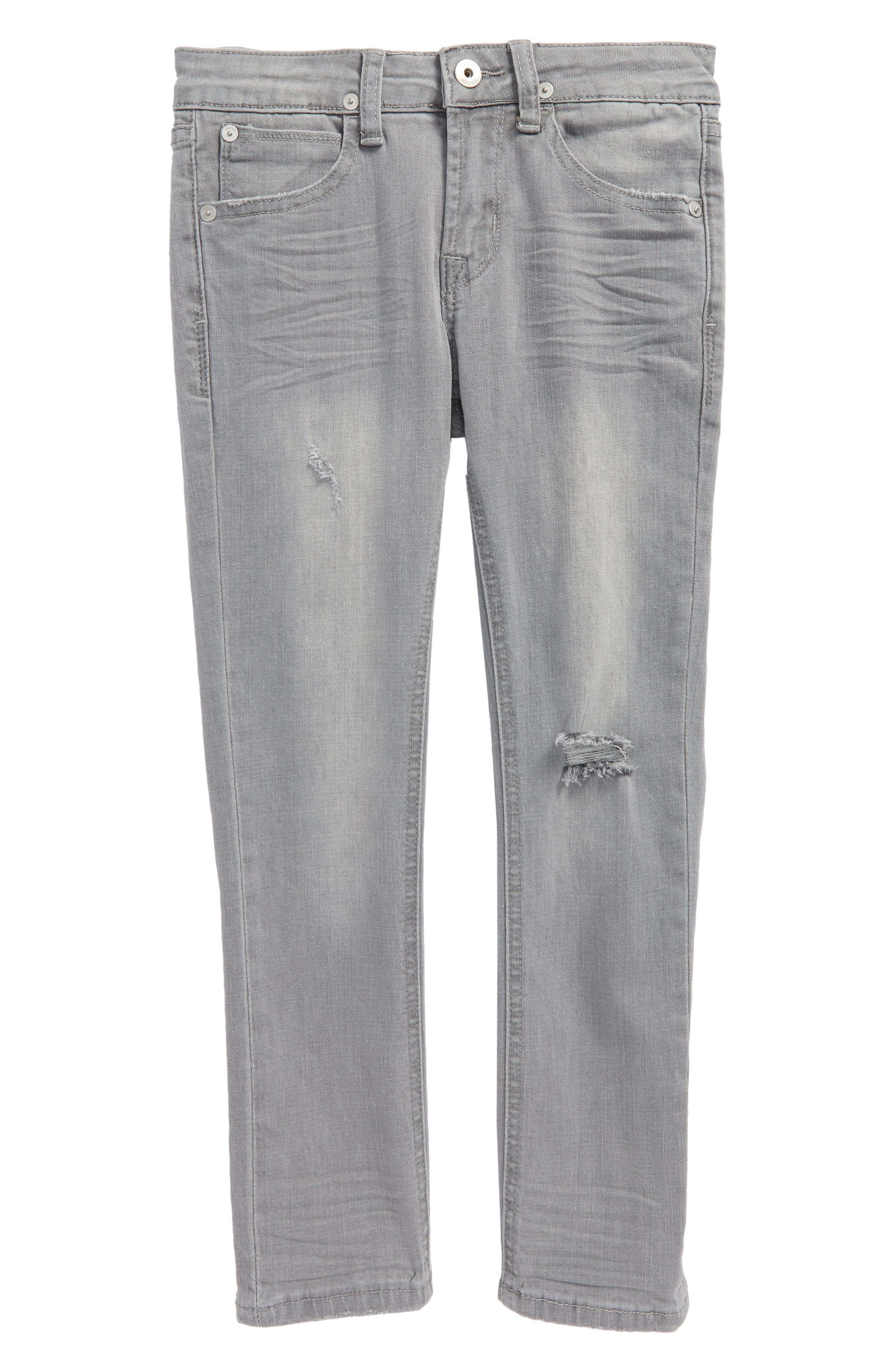 Jude Slim Fit Skinny Jeans,                             Main thumbnail 1, color,                             Ice Grey