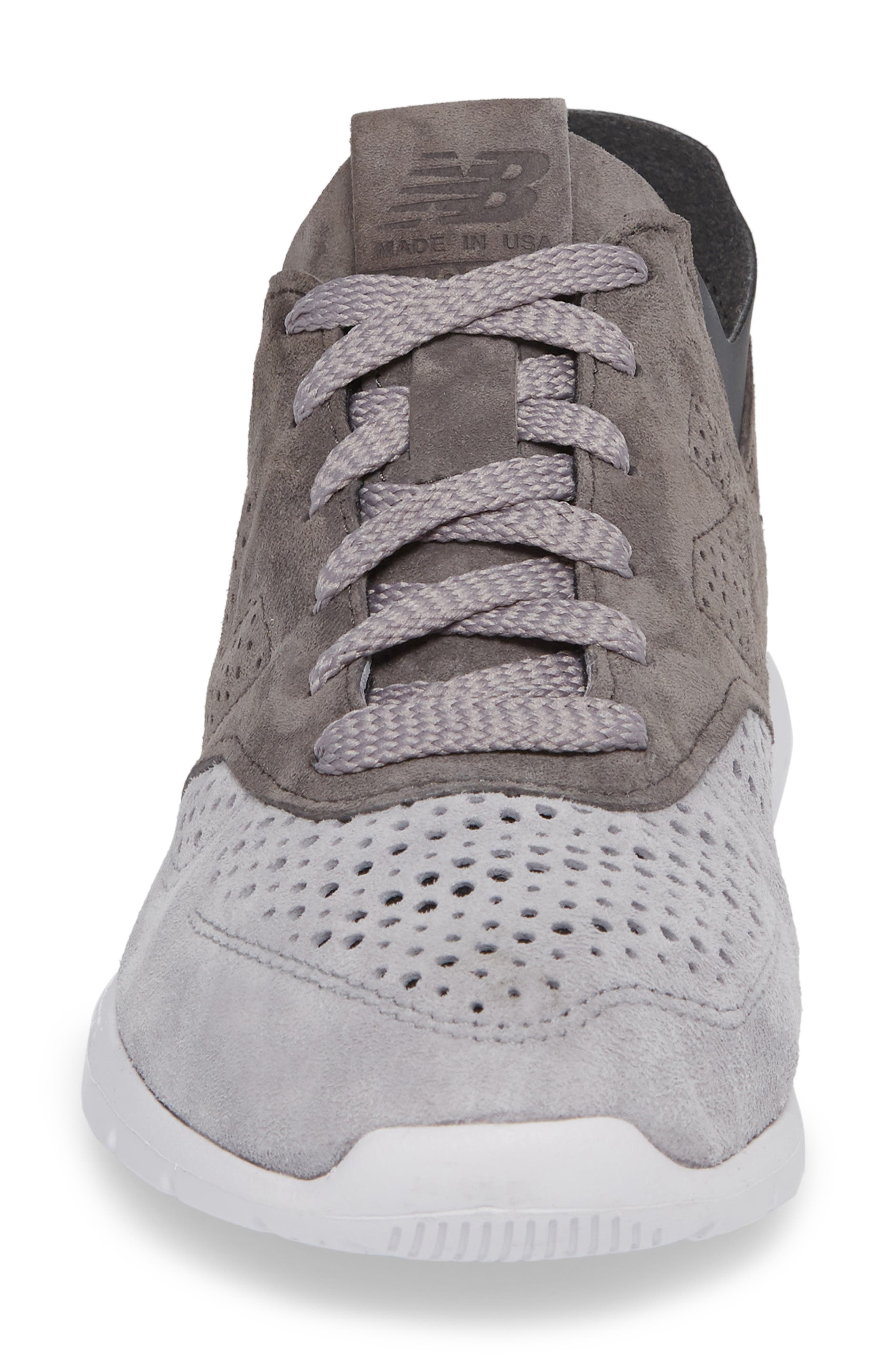 1978 Perforated Sneaker,                             Alternate thumbnail 4, color,                             Grey