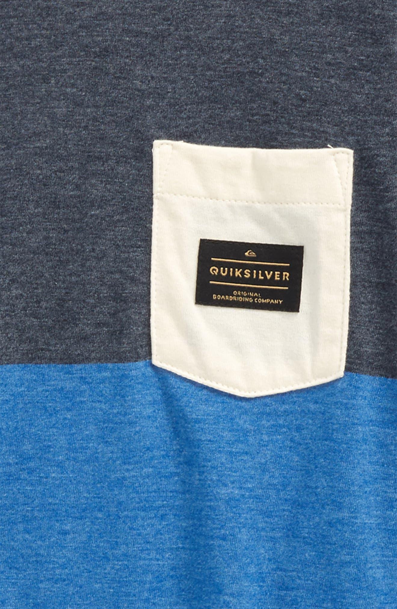 Aspenshore Pocket T-Shirt,                             Alternate thumbnail 2, color,                             Bright Cobalt
