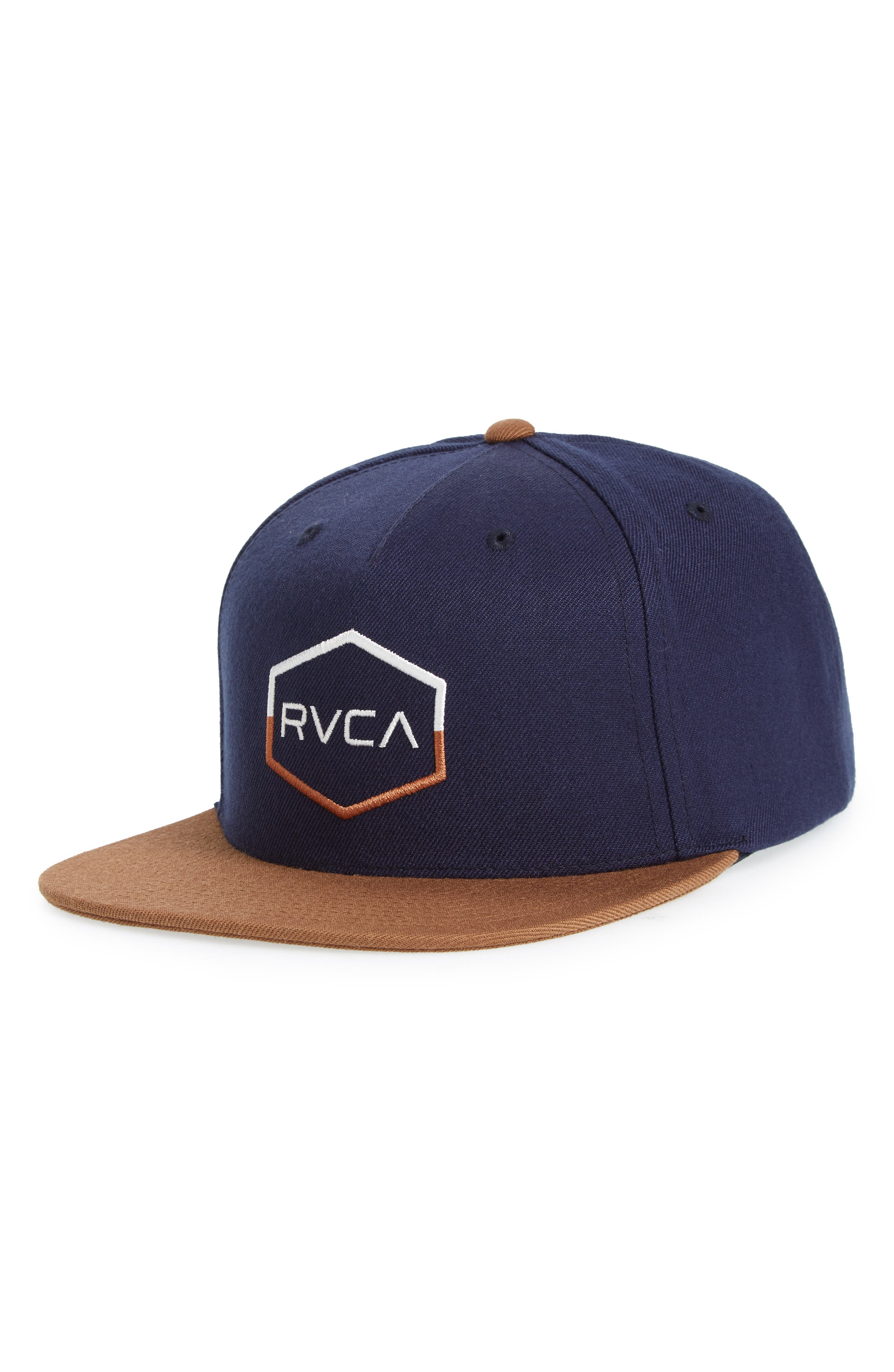 Commonwealth III Snapback Hat,                         Main,                         color, Navy