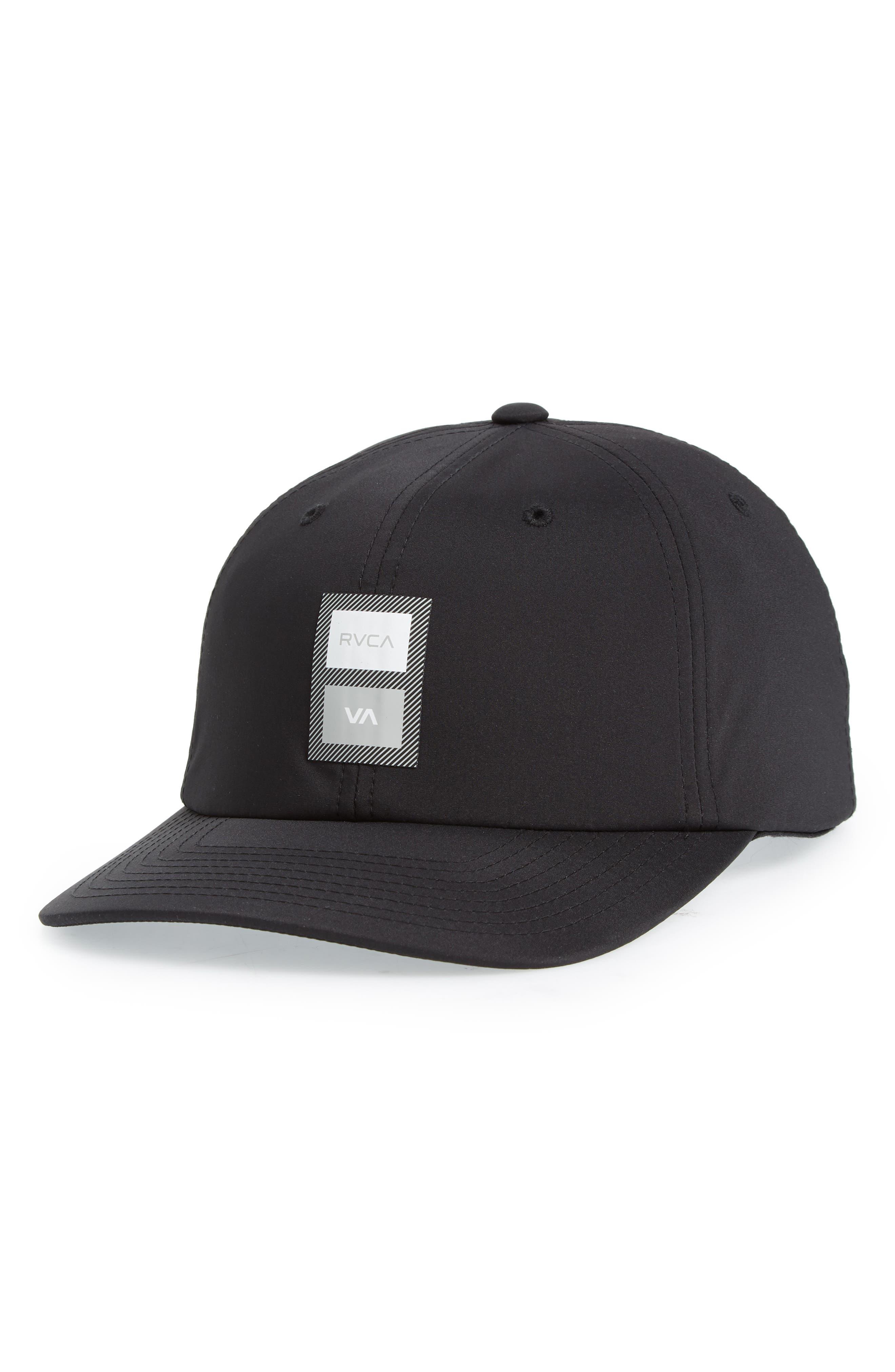 RA Sport Trainer Baseball Cap,                         Main,                         color, Black