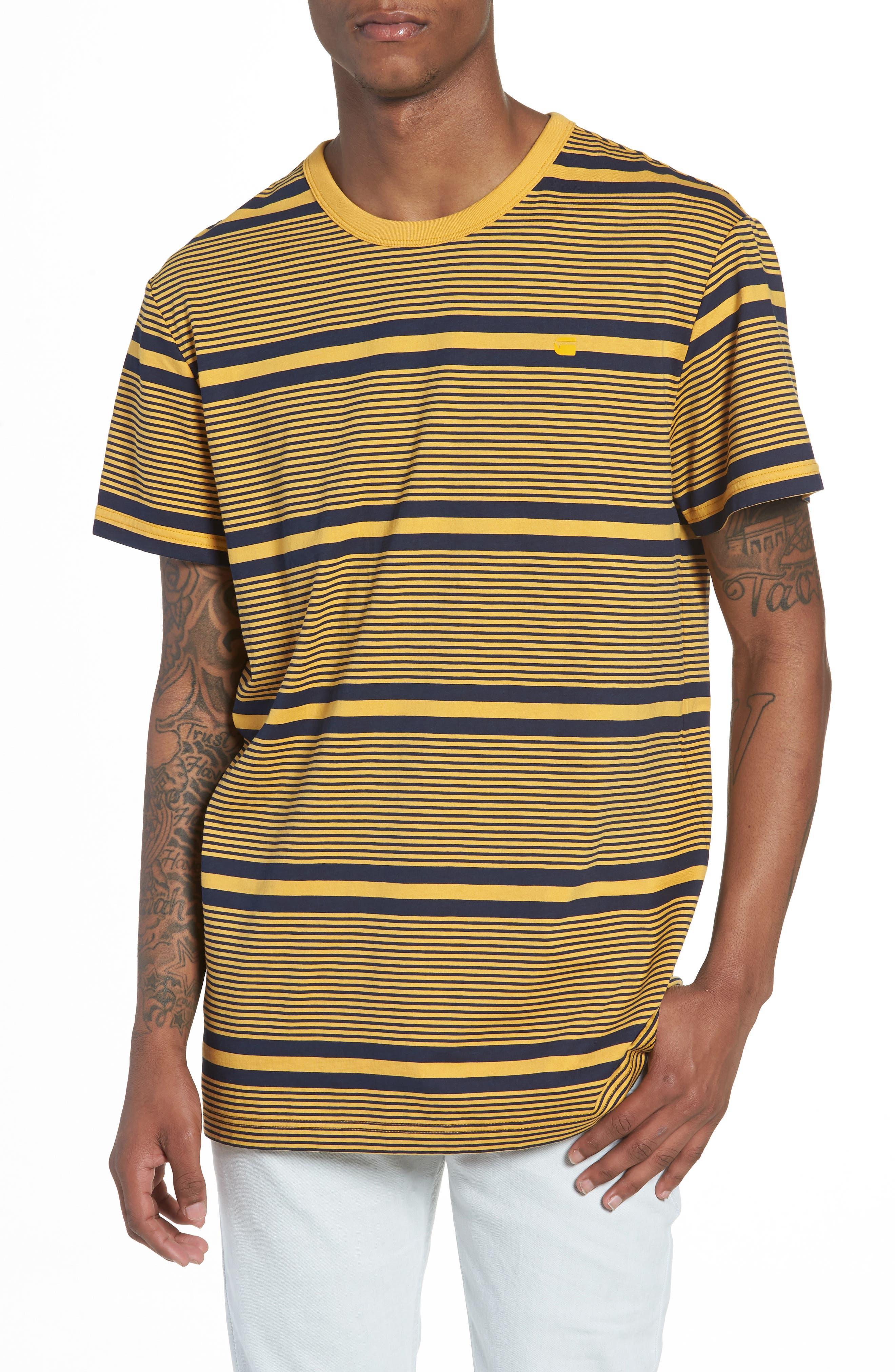 G-Star Raw Makauri Stripe 5 T-Shirt