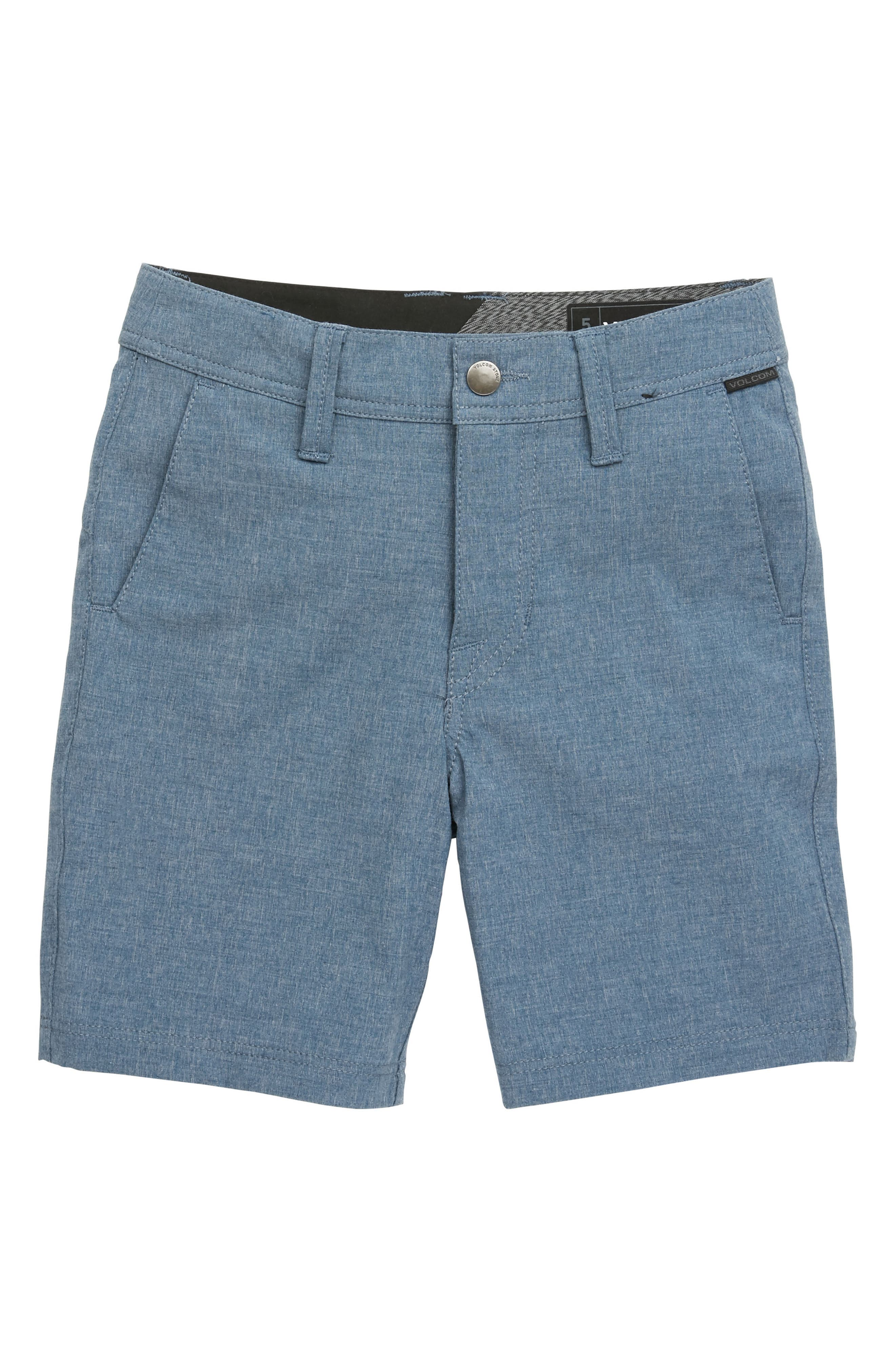 Surf N' Turf Static Hybrid Shorts,                             Main thumbnail 1, color,                             Deep Blue