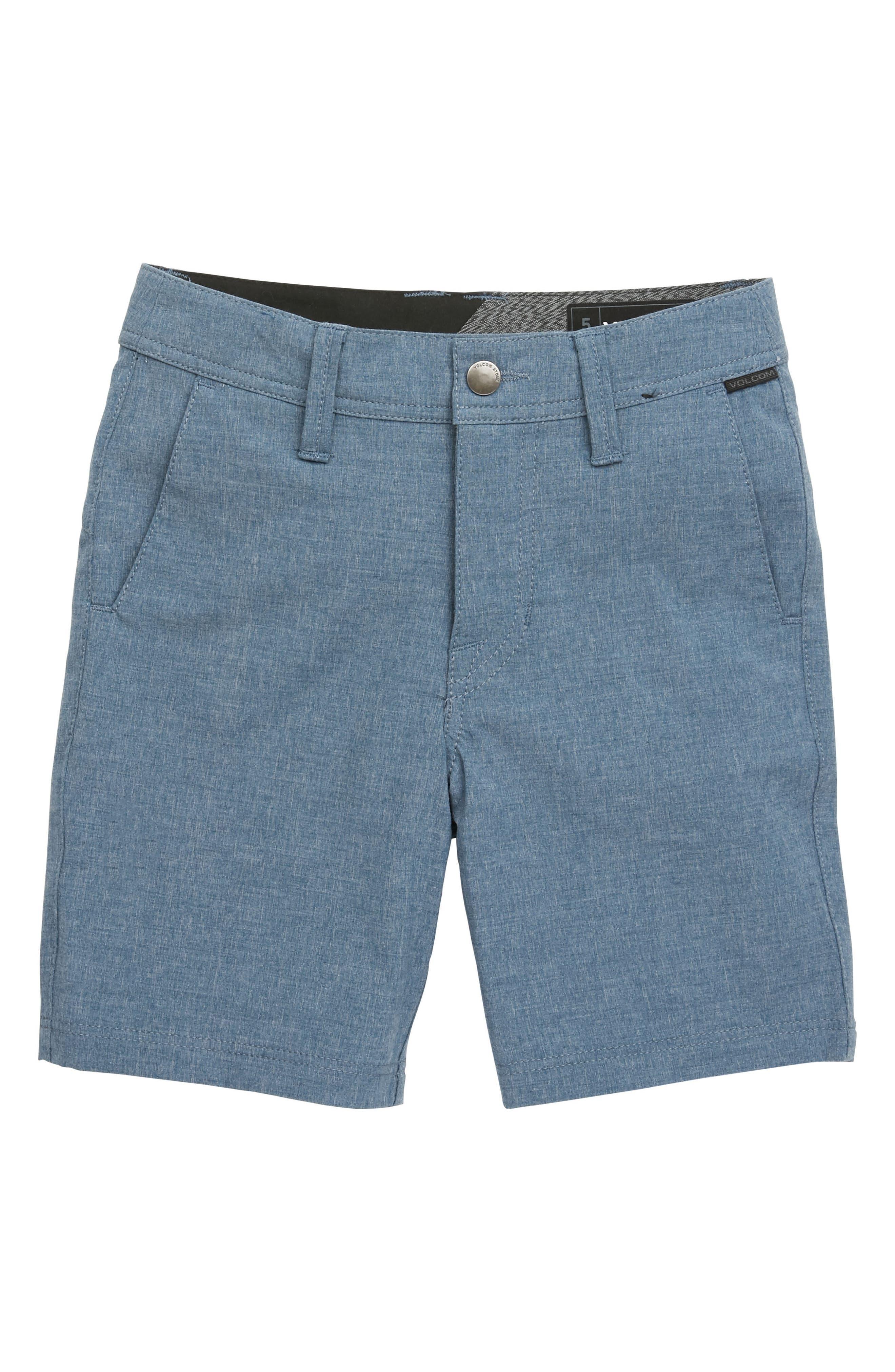 Surf N' Turf Static Hybrid Shorts,                         Main,                         color, Deep Blue