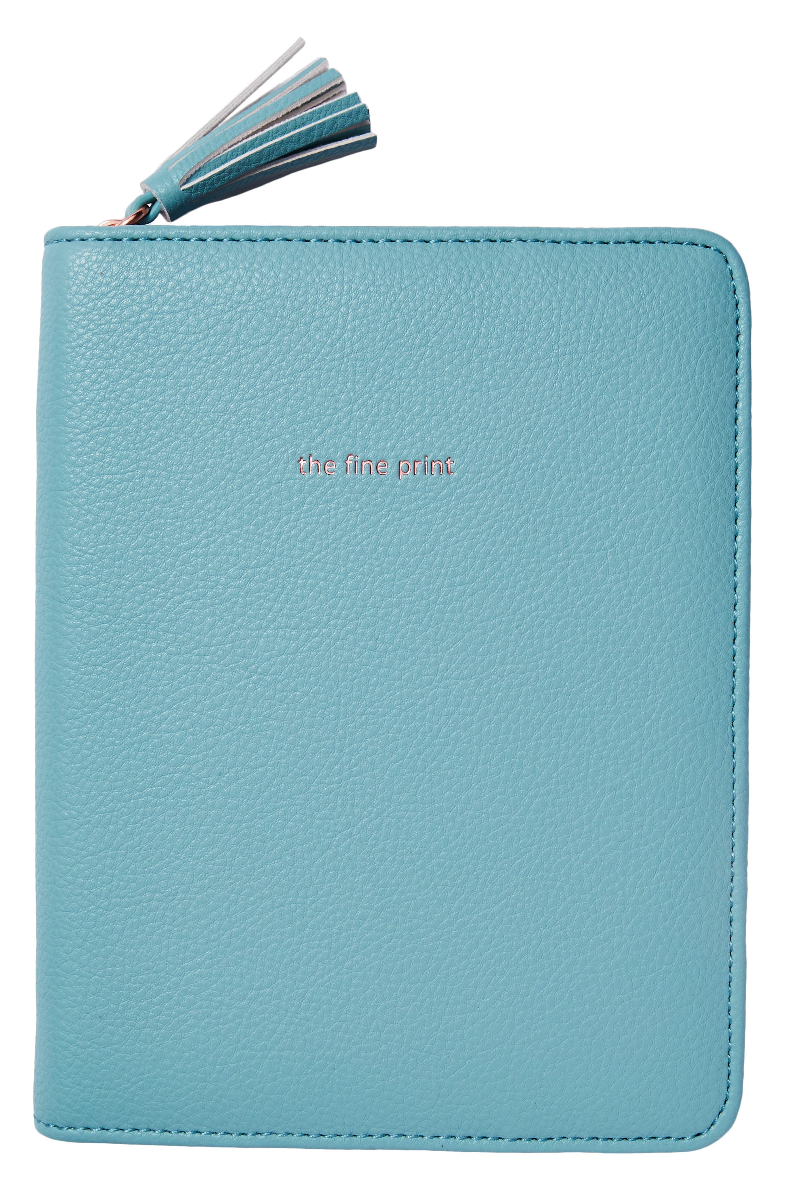 Idiom Leather Journal,                             Alternate thumbnail 6, color,                             Mint