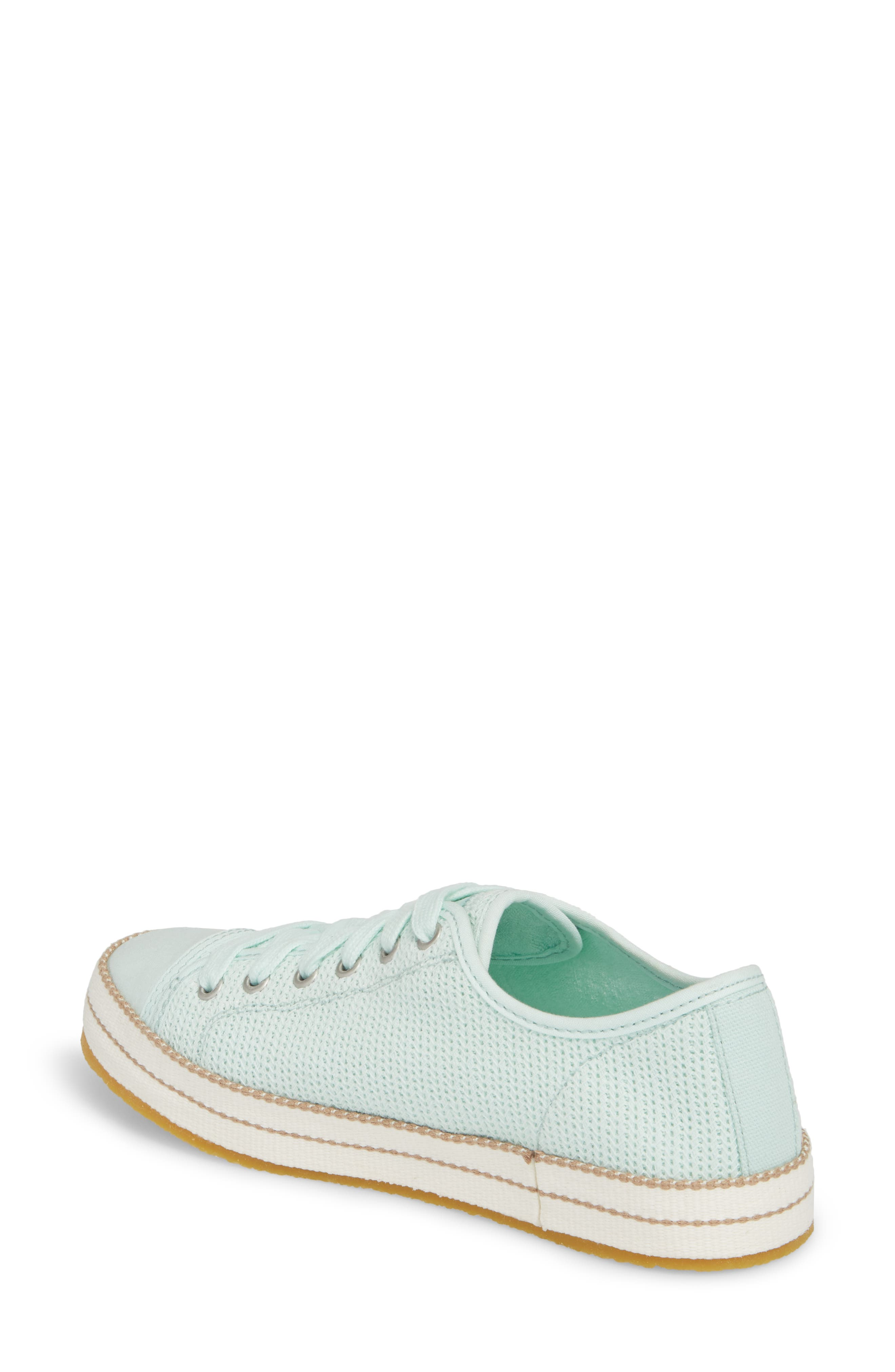 Claudi Sneaker,                             Alternate thumbnail 2, color,                             Aqua