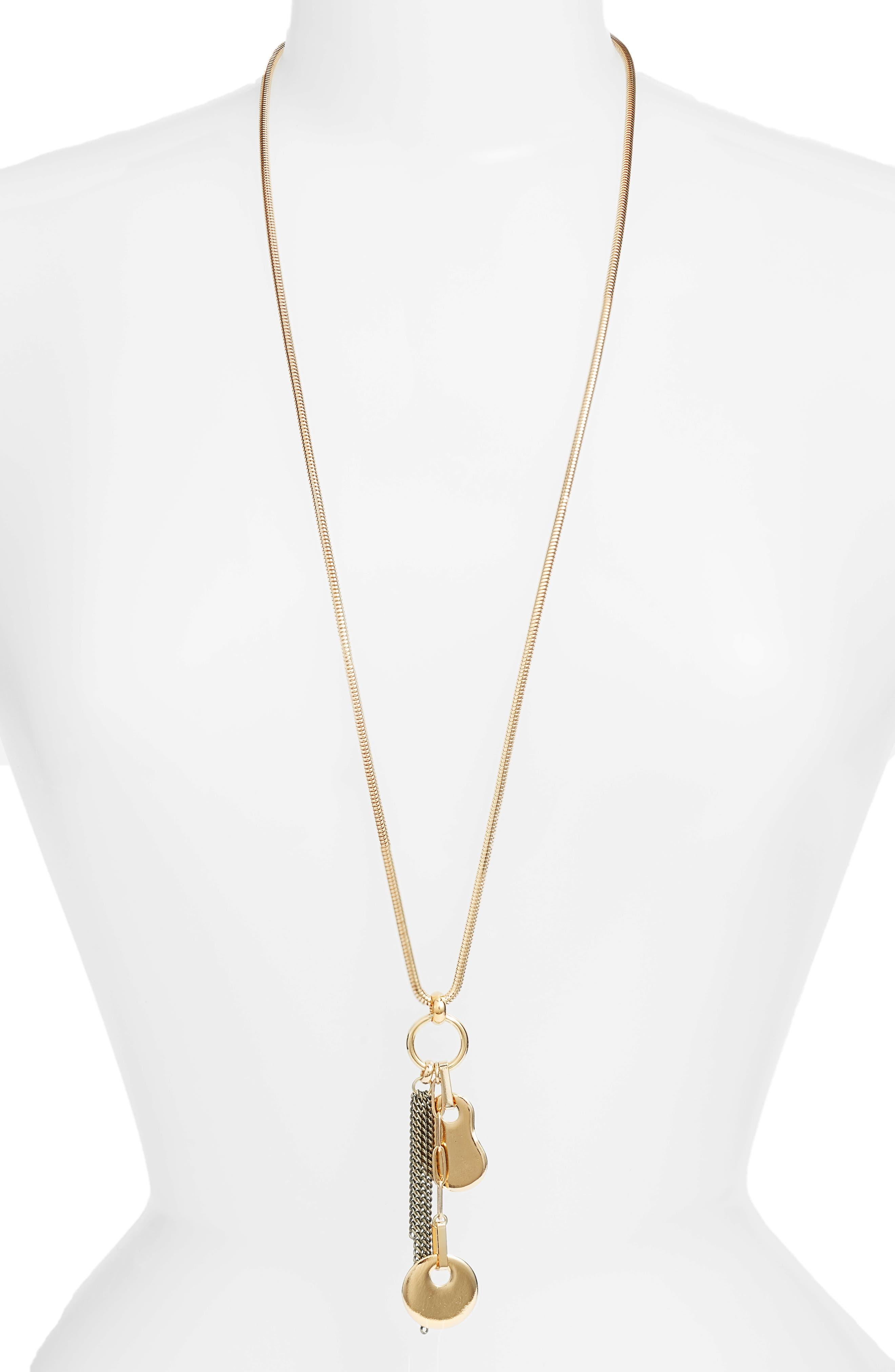 BIKO Amoeba Cluster Pendant Necklace