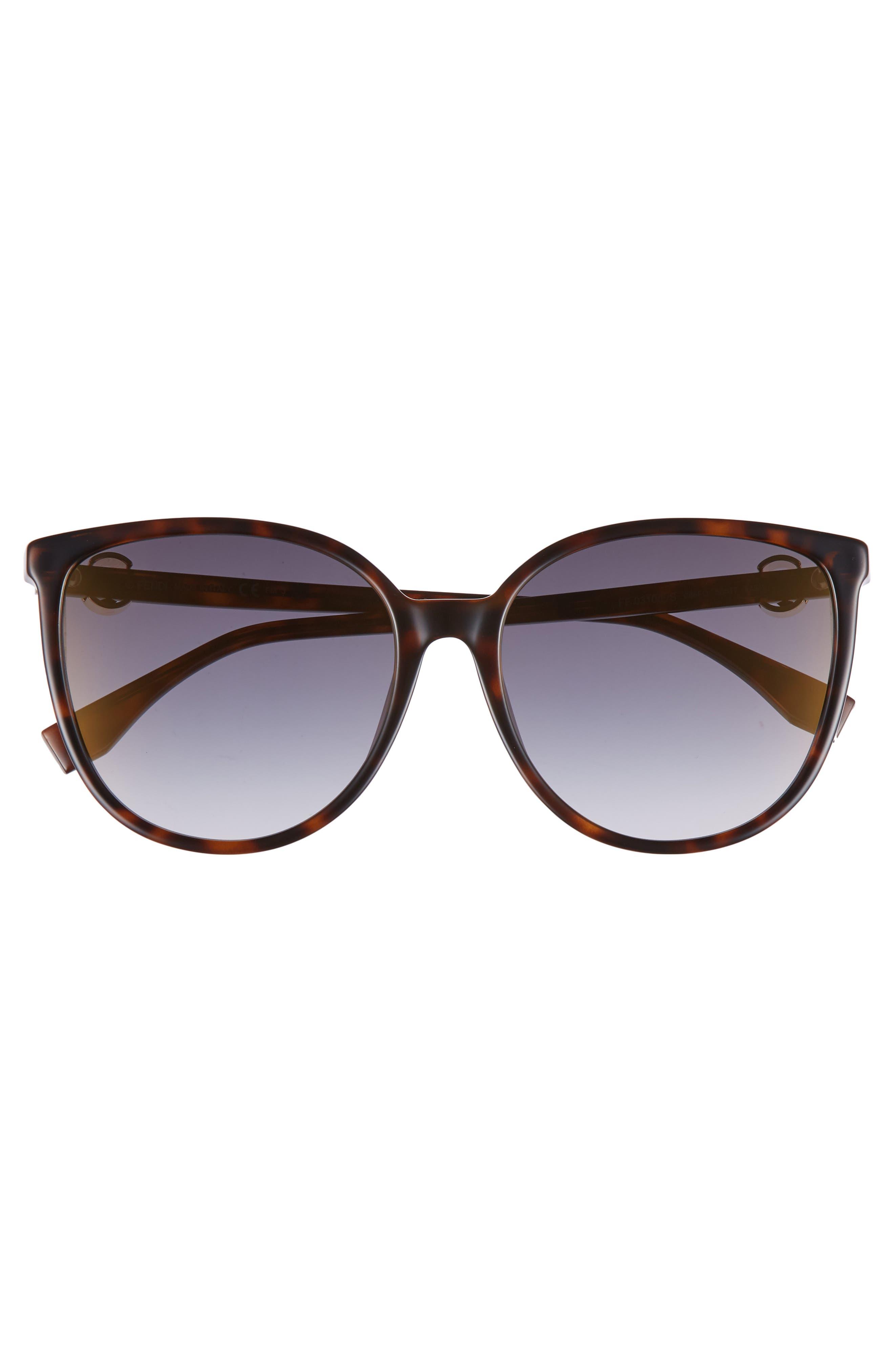 Alternate Image 3  - Fendi 58mm Retro Special Fit Sunglasses