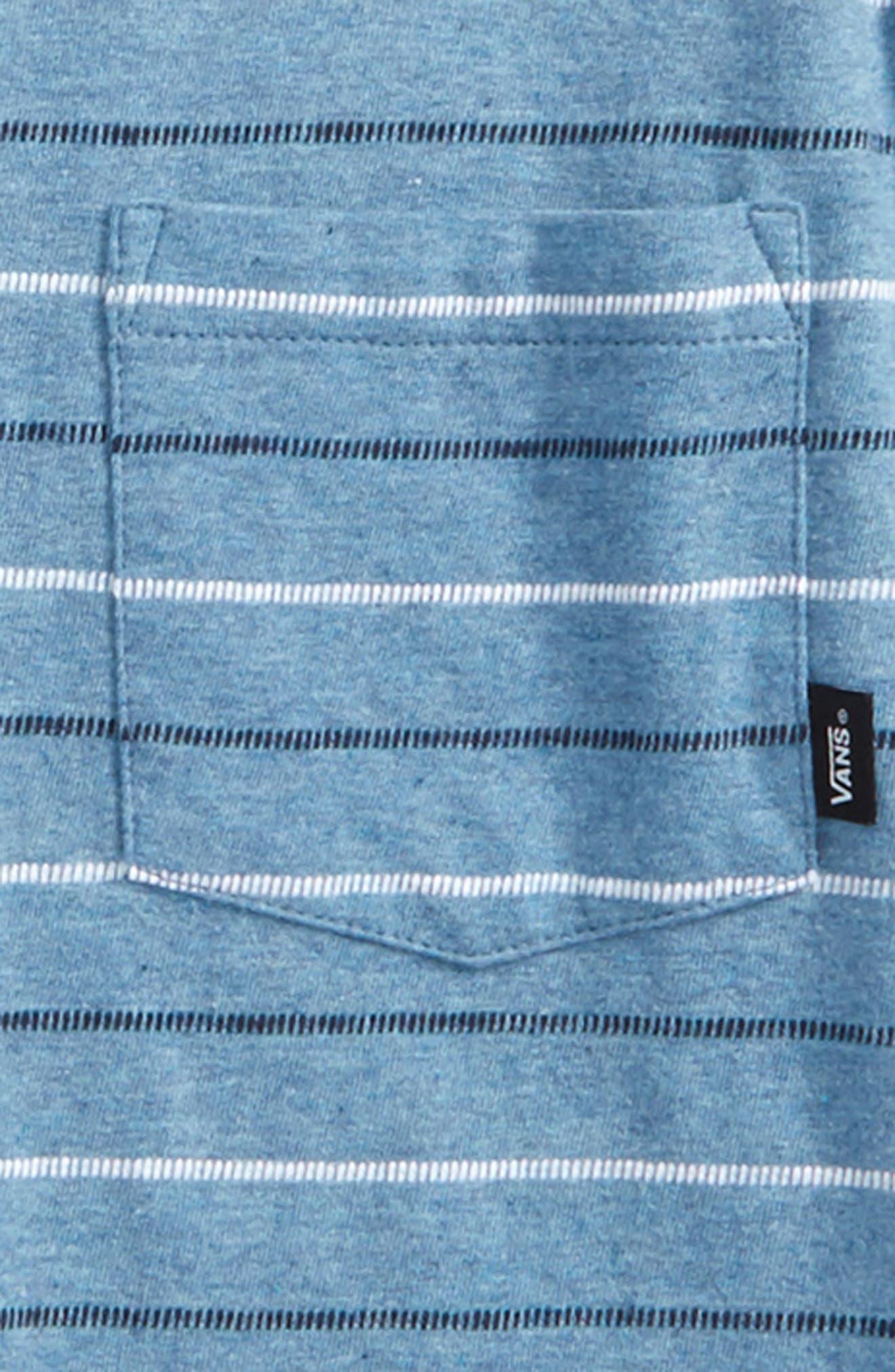 Strikemont III T-Shirt,                             Alternate thumbnail 2, color,                             Copen Blue Heather