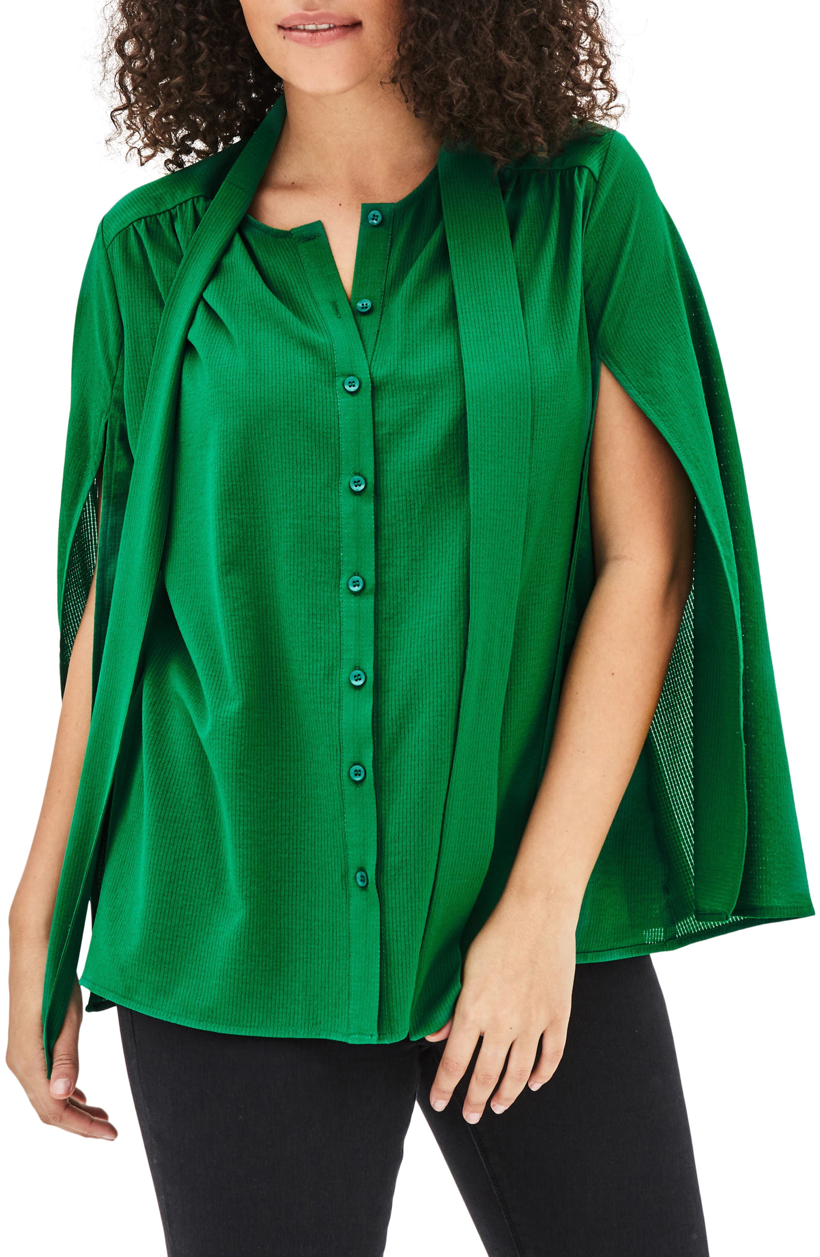 ELVI The Yoshi Blouse (Plus Size)
