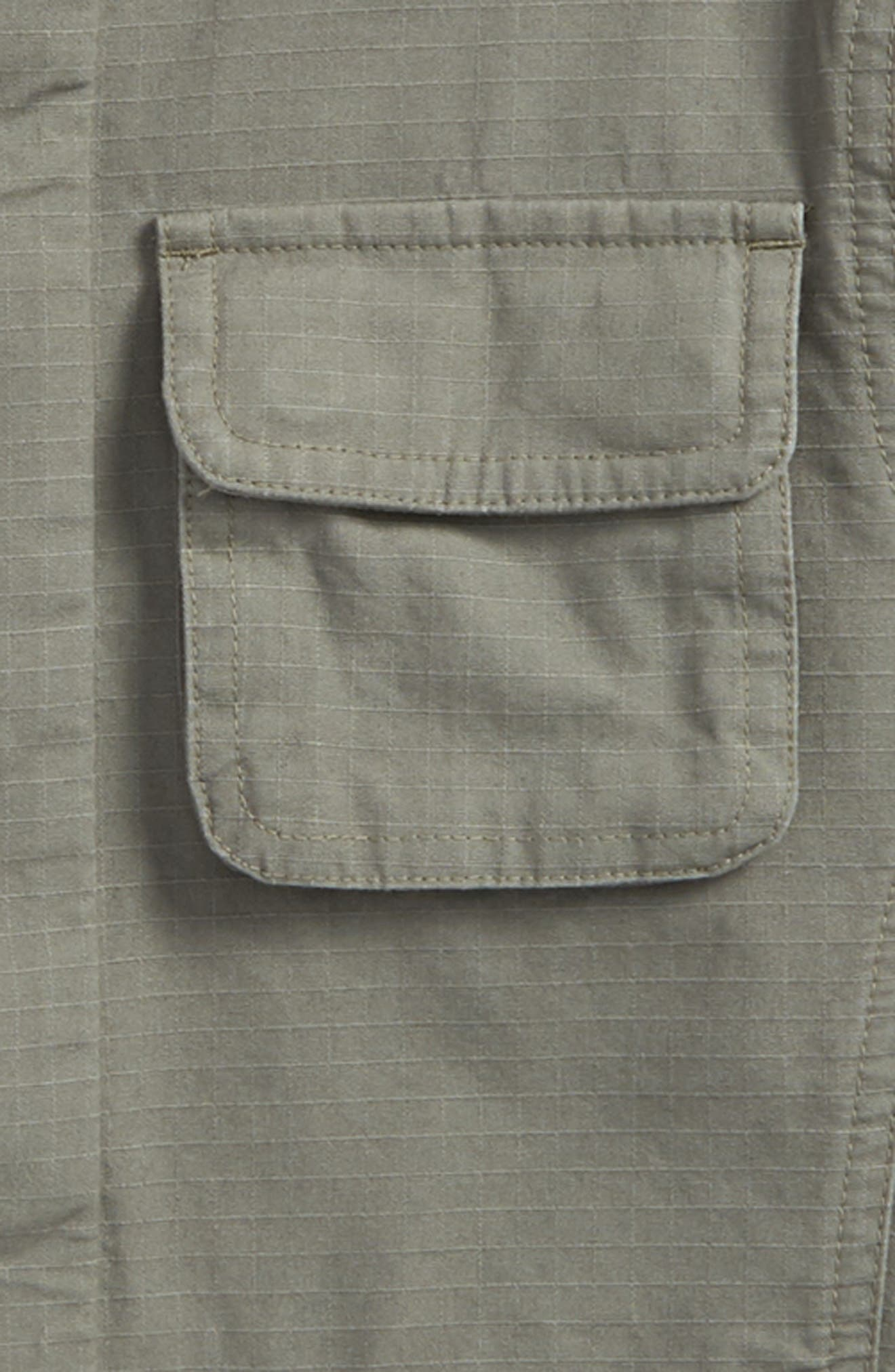 Canvas Utility Jacket,                             Alternate thumbnail 2, color,                             Green Agave