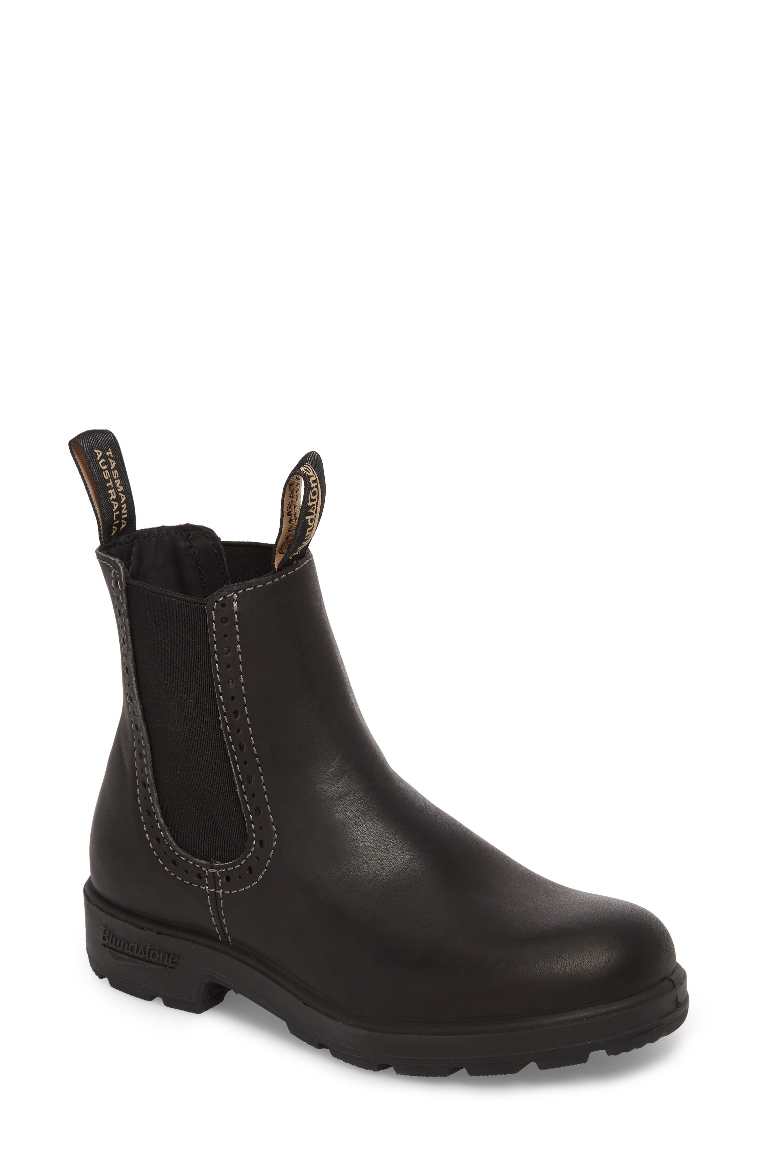 Footwear Chelsea Boot,                             Main thumbnail 1, color,                             Voltan Black Leather