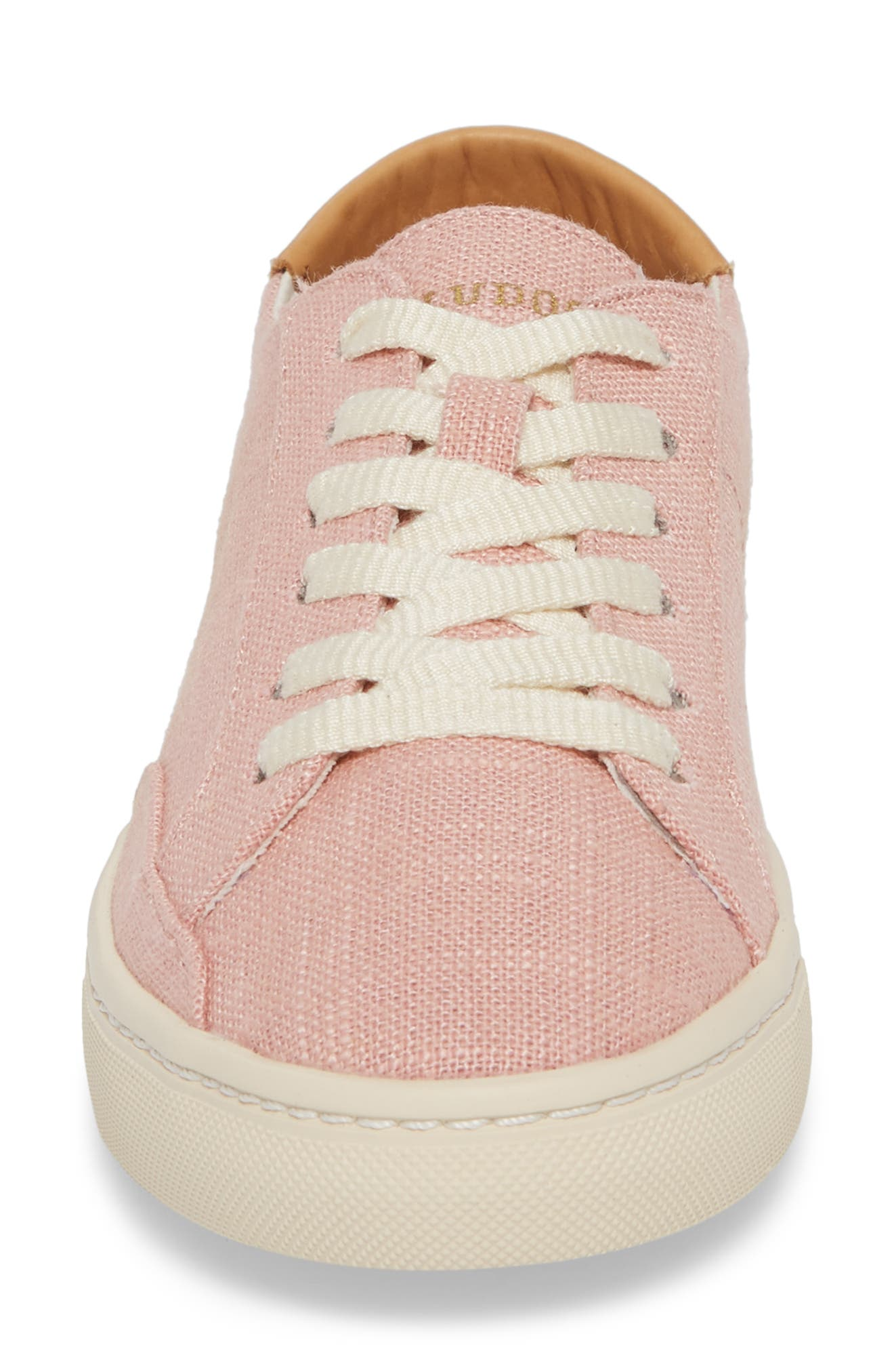 Ibiza Sneaker,                             Alternate thumbnail 4, color,                             Dusty Rose Fabric