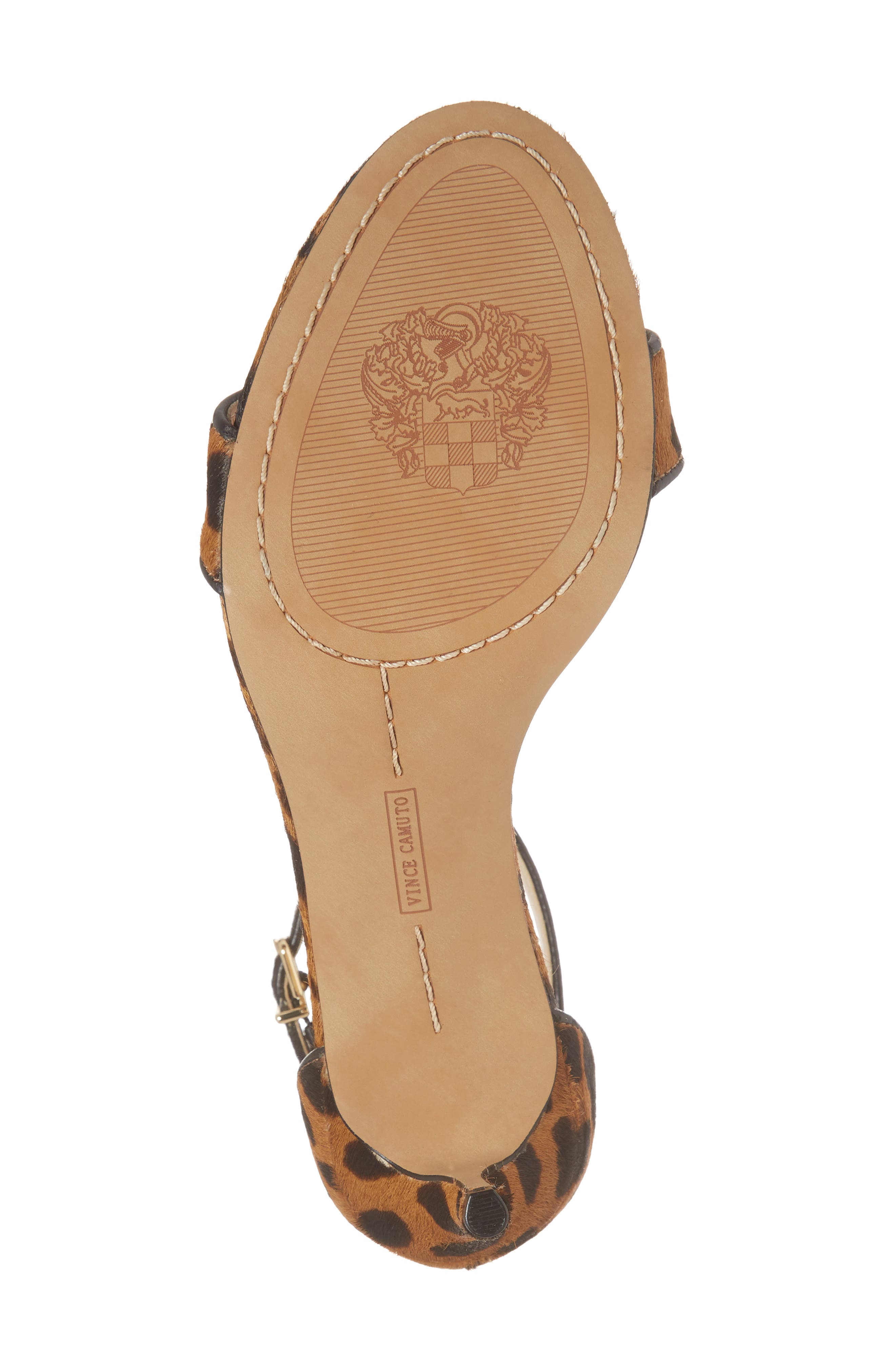 Alternate Image 6  - Vince Camuto Sebatini Genuine Calf Hair Sandal (Women)